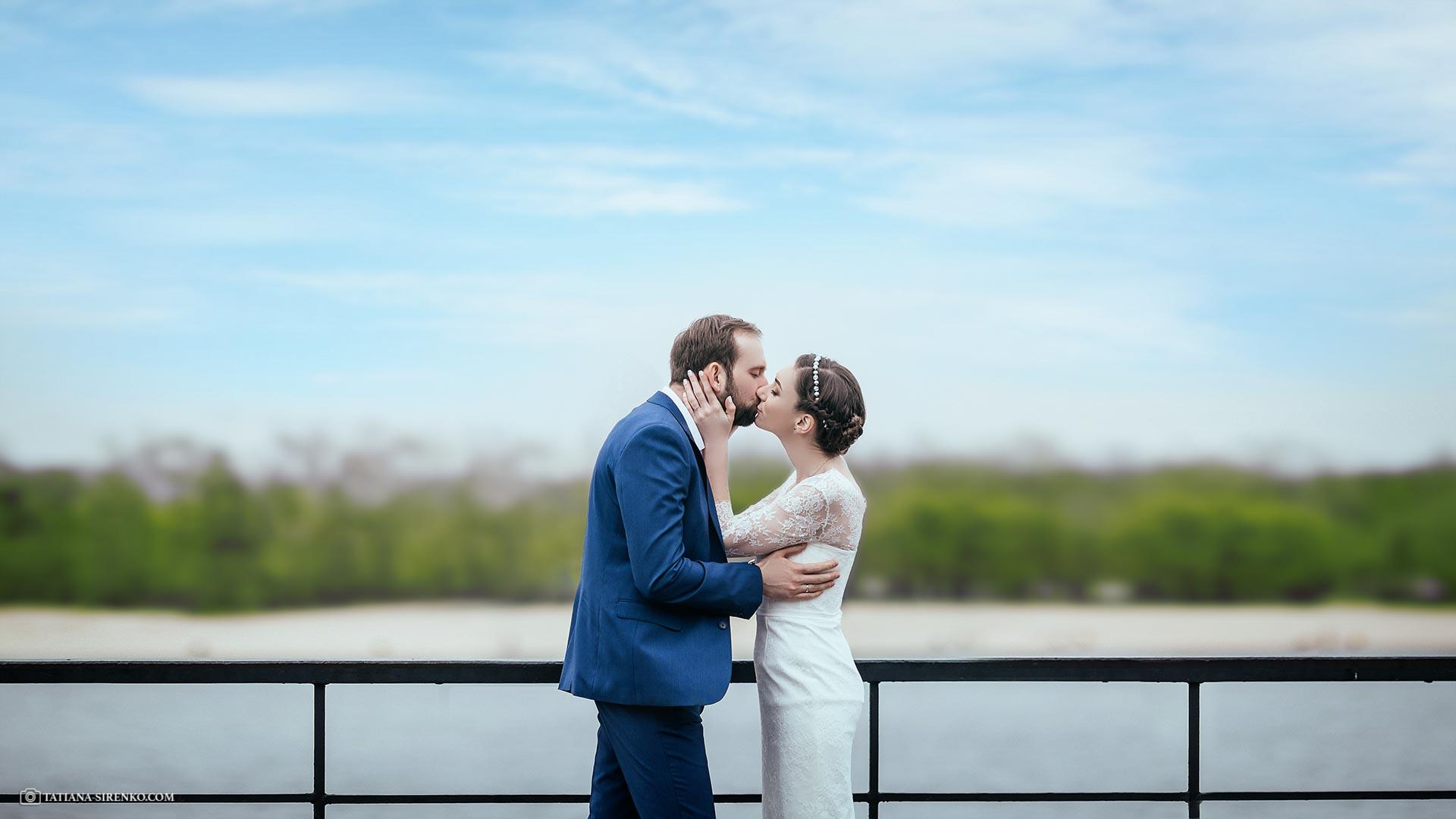 Фотосъемка свадьбы Набережная
