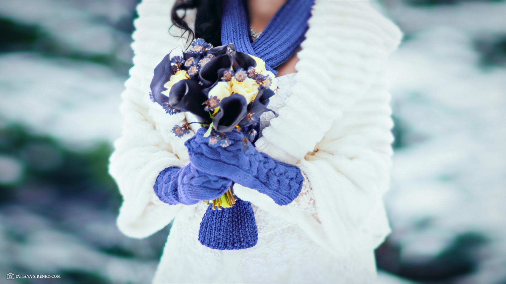 Свадьба в дождь или зимой
