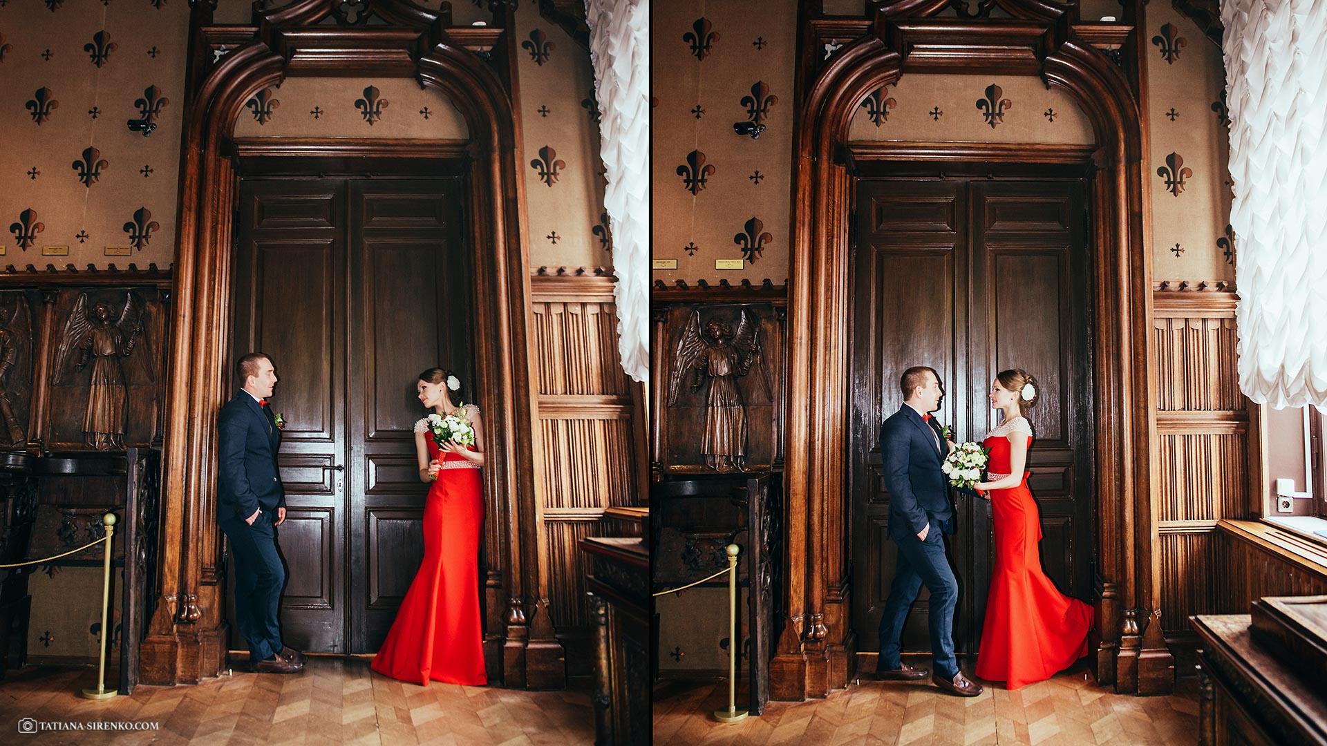 Свадебная фотосессия в доме Ханенко