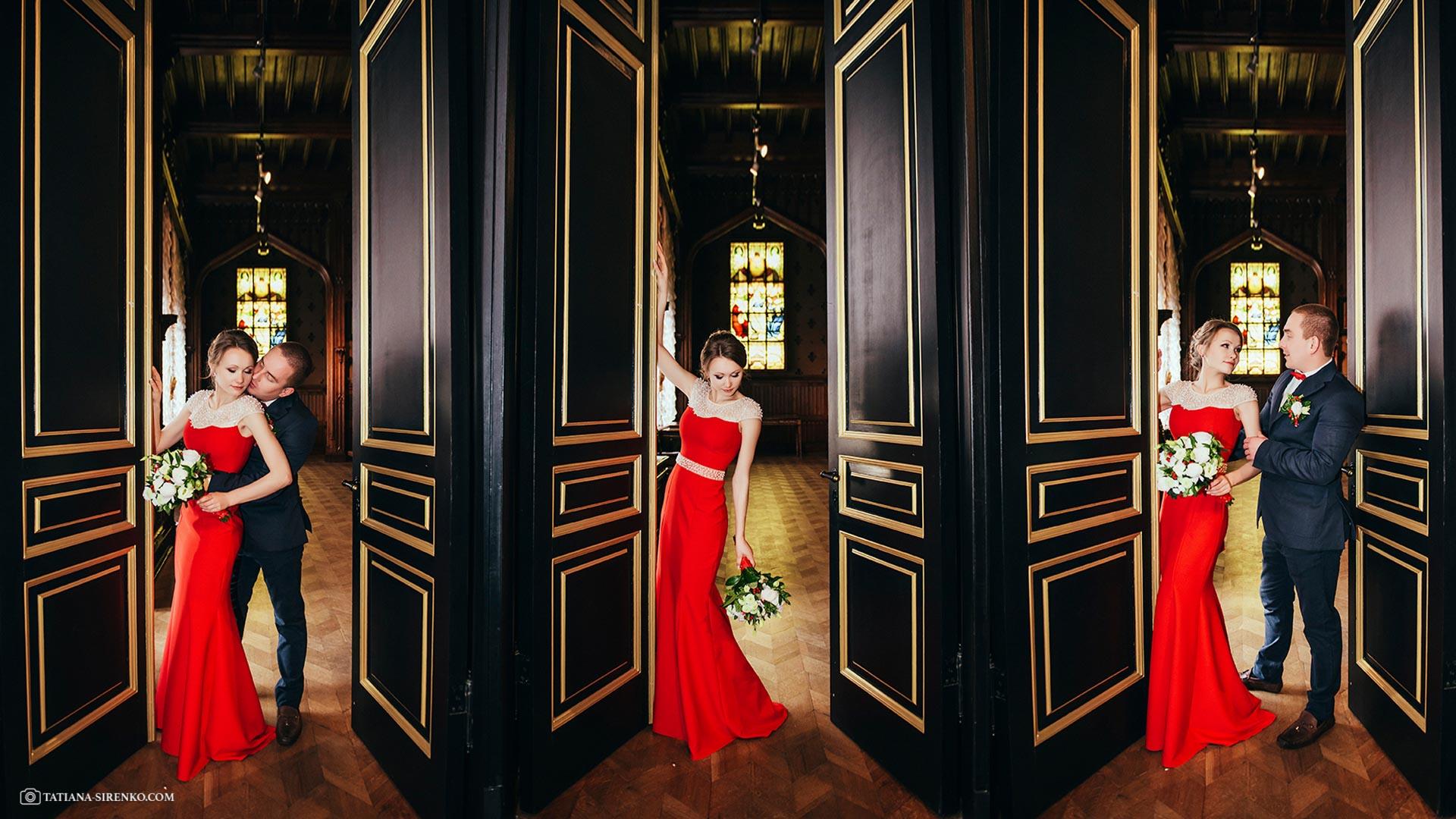 Свадебное фото музей Ханенко