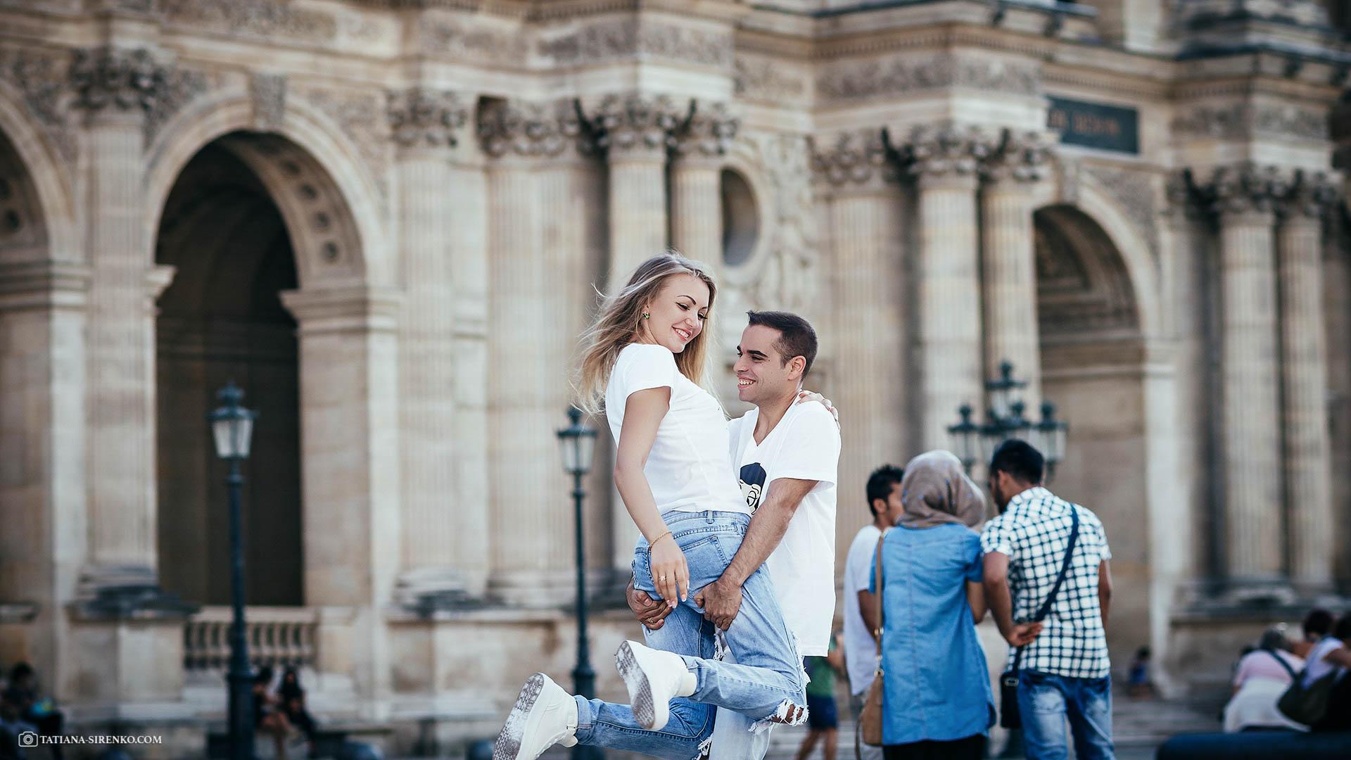 Lovе story в Париже