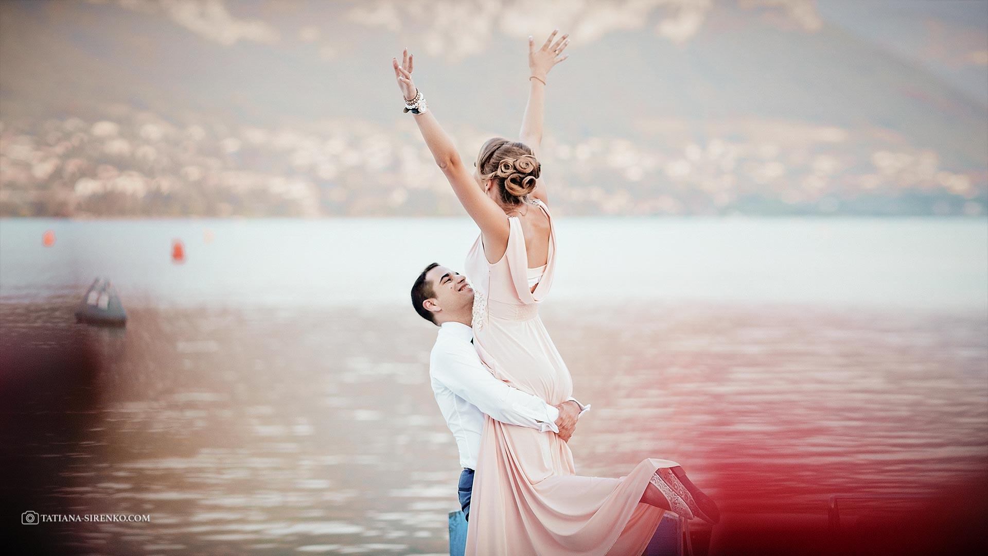 Свадебная фотосъемка в Швейцарии