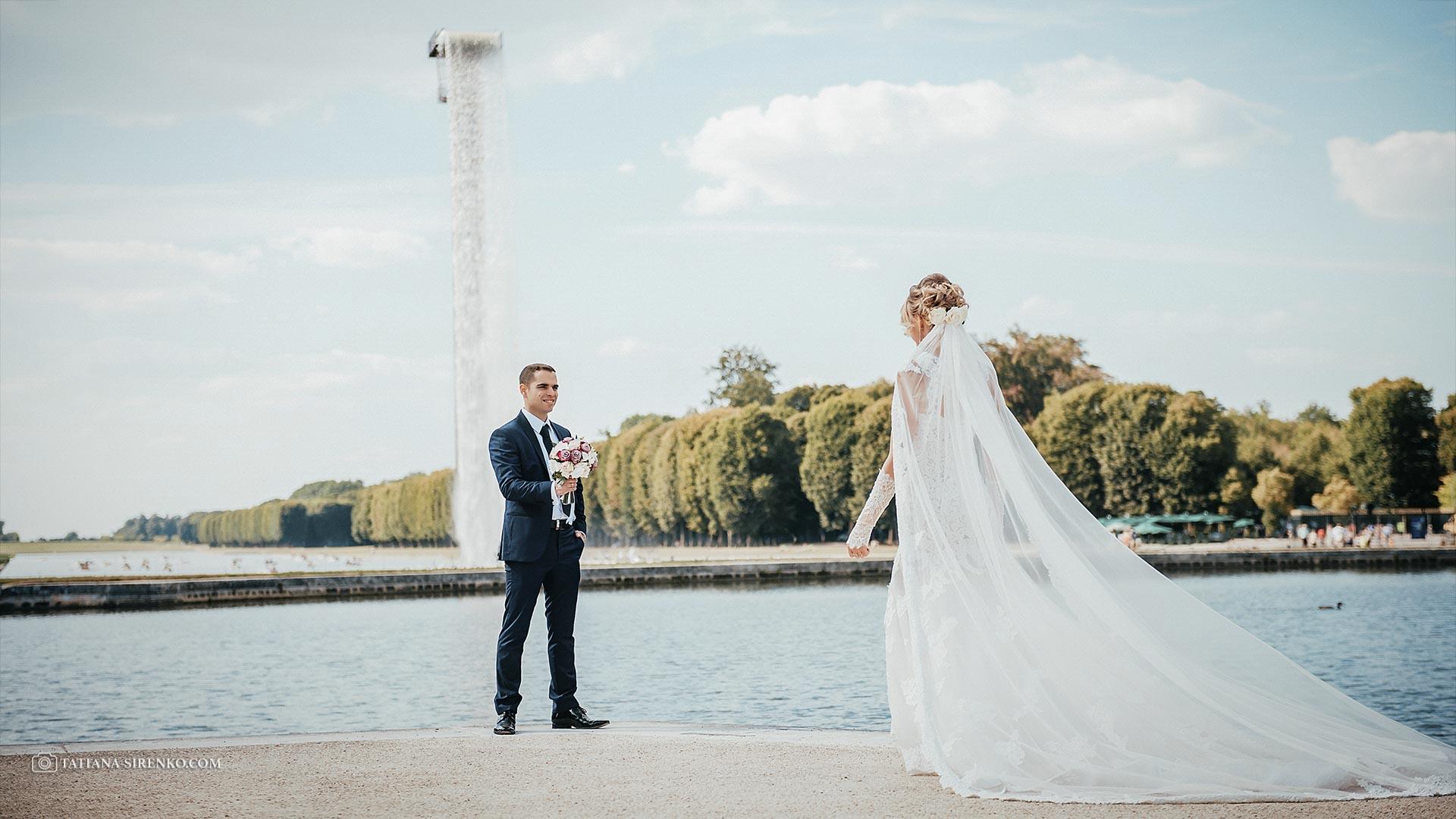 Свадебная фотосъемка Версаль
