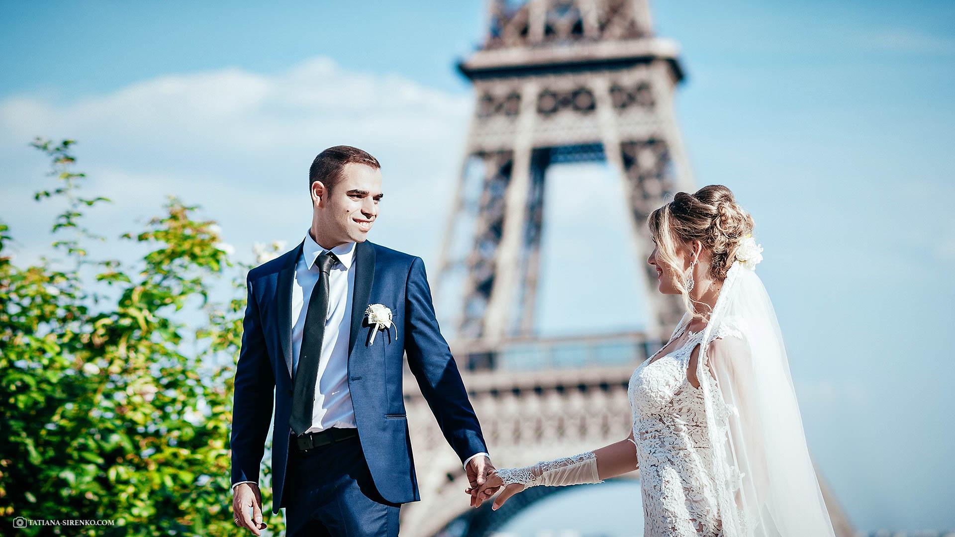 Фотосессии в Париже