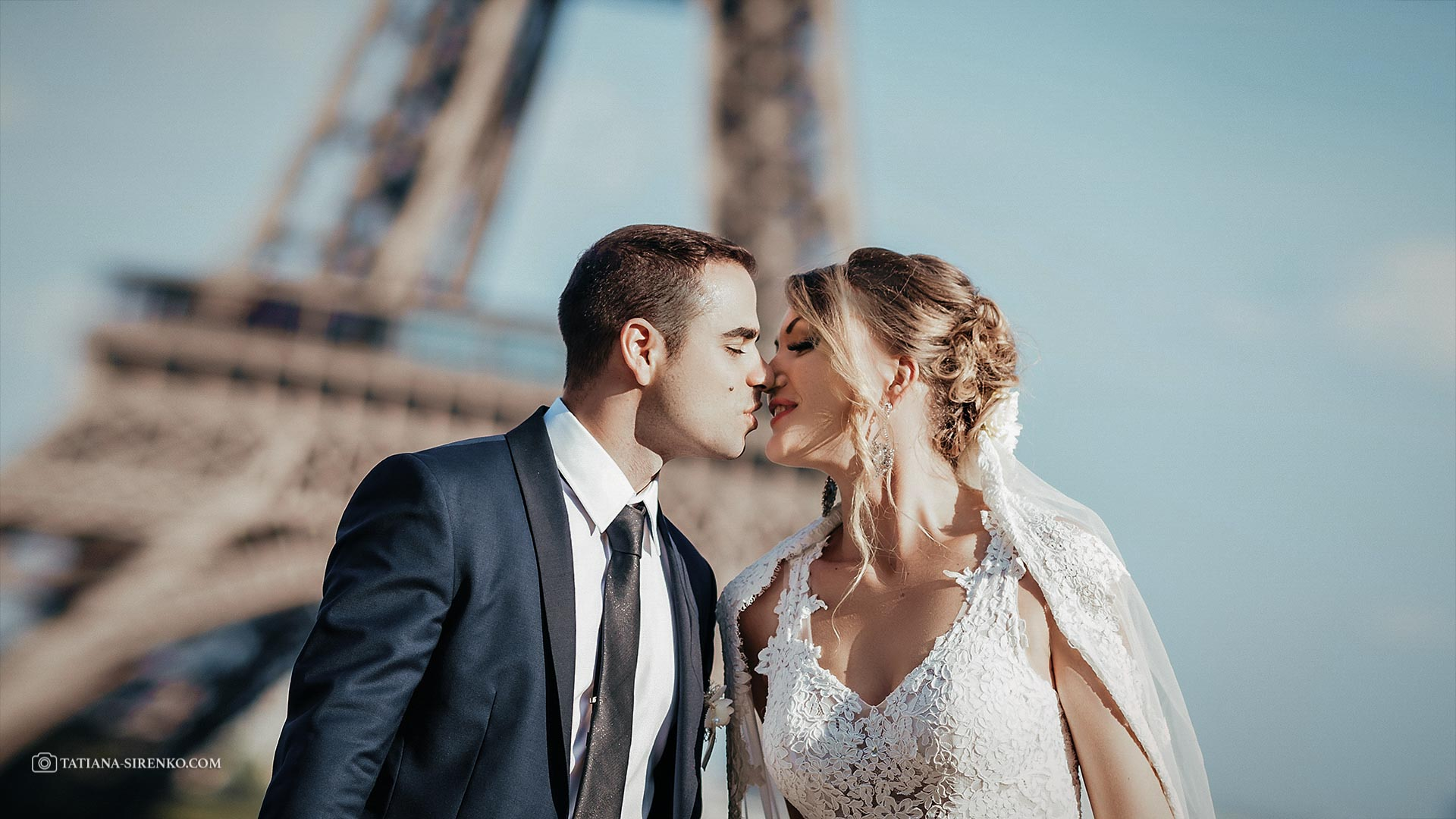 Свадебная фотосъемка во Франции