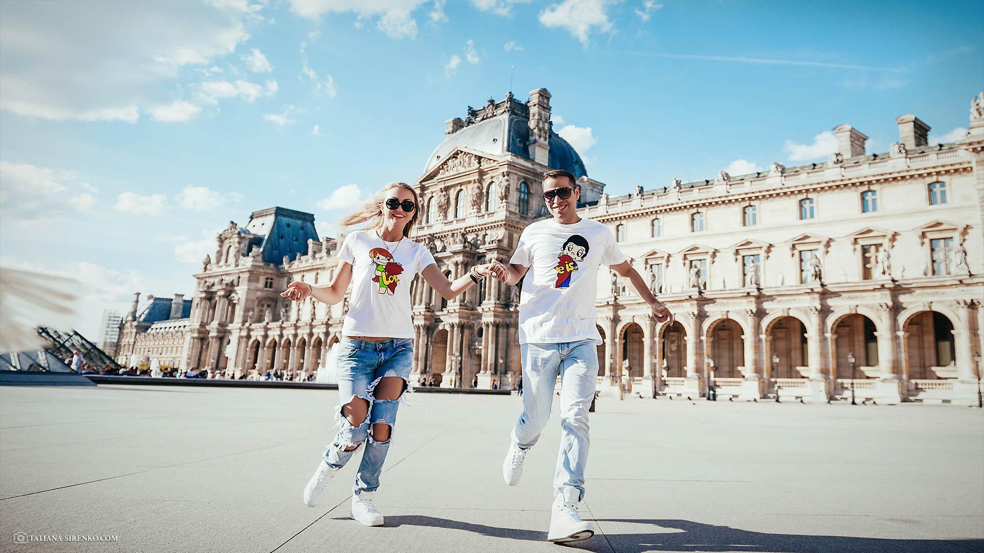 Photoshoot Love Story in Paris