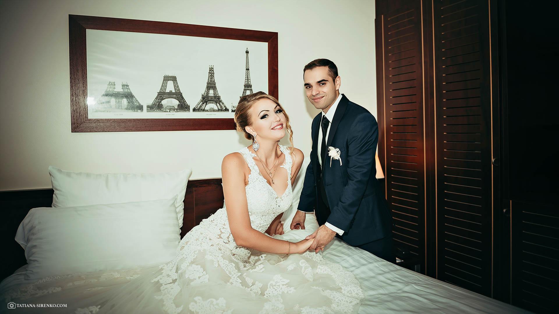 Свадебная фотосъемка Париж