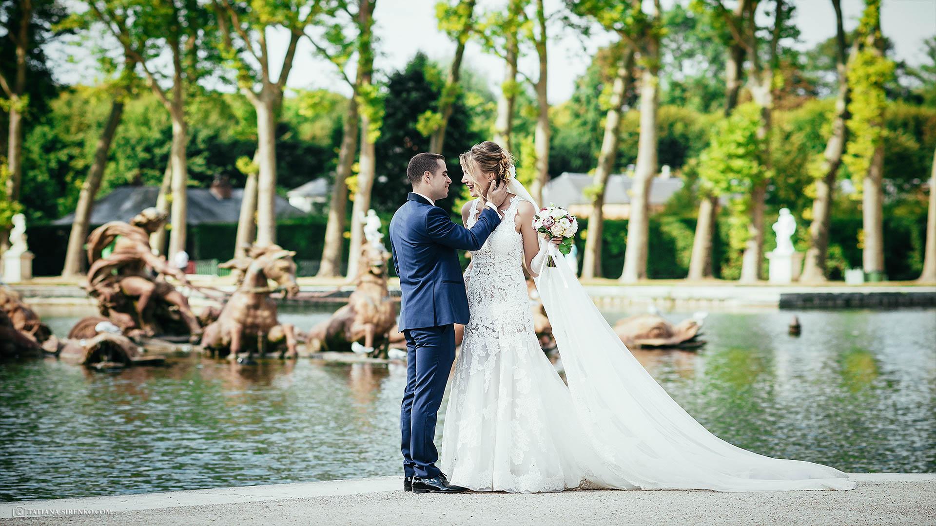 Свадебная фотосъемка в Париже