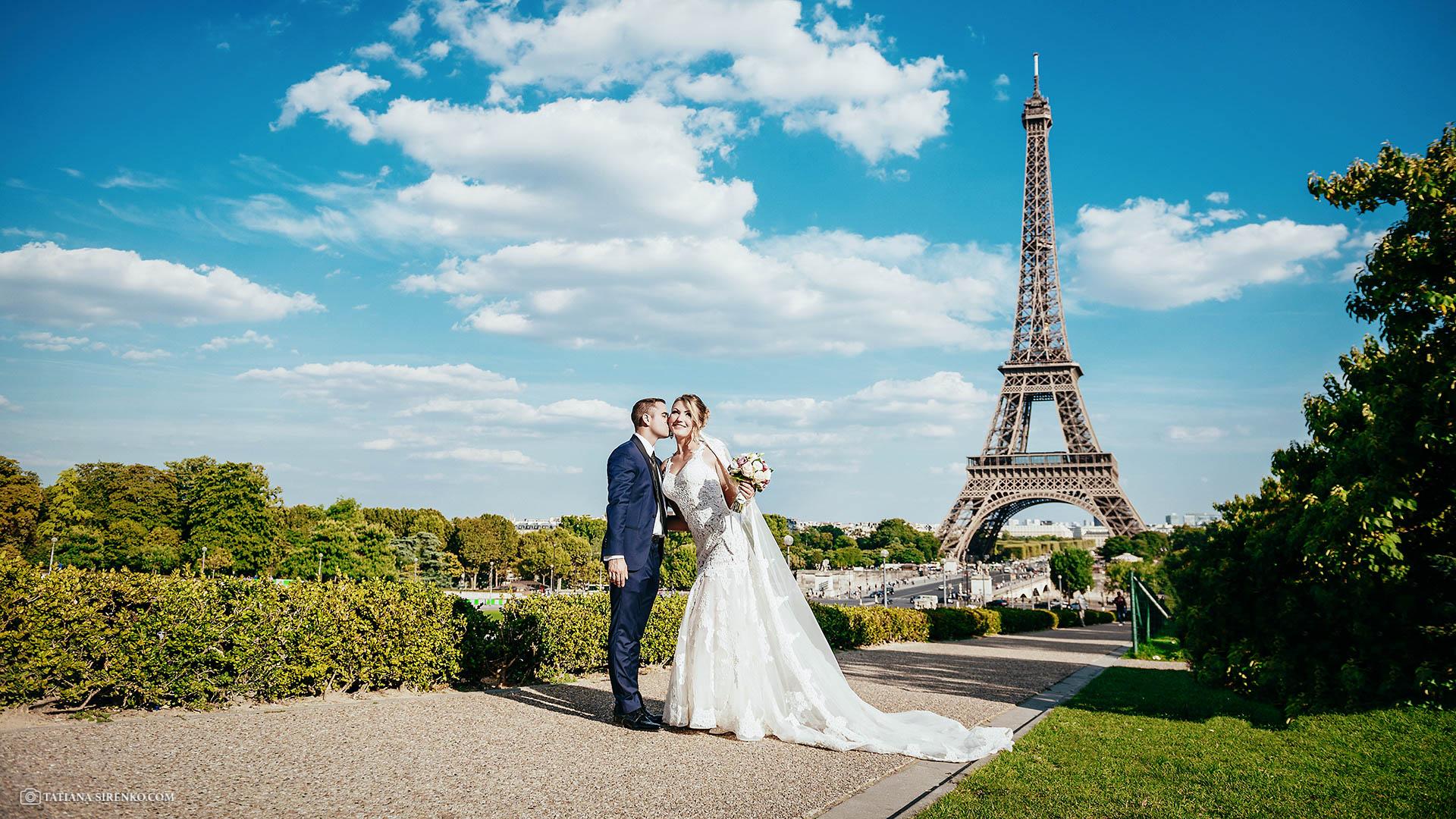 Сколько стоит свадебный фотографв Париже