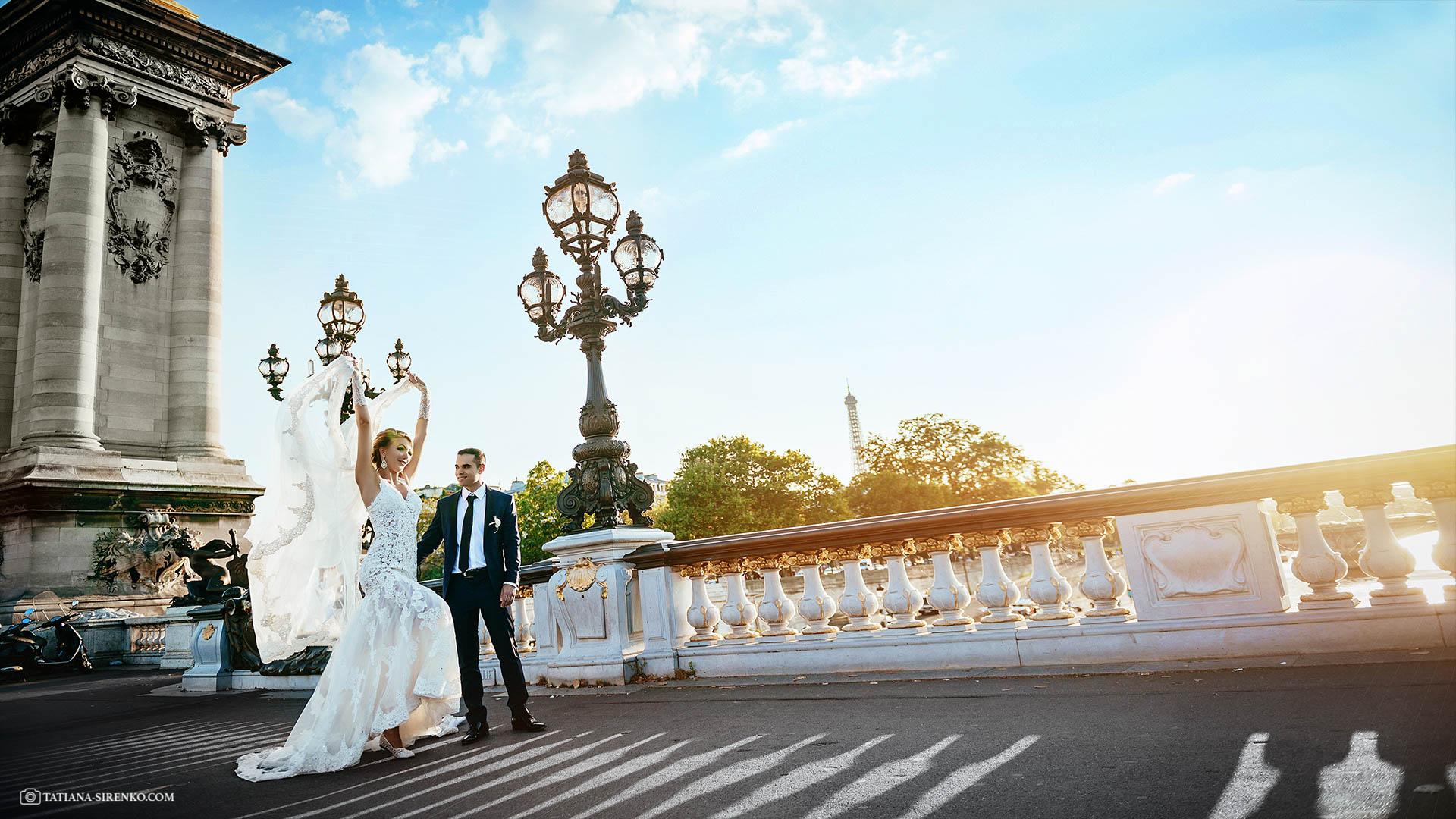 Свадебная фотографияПариж