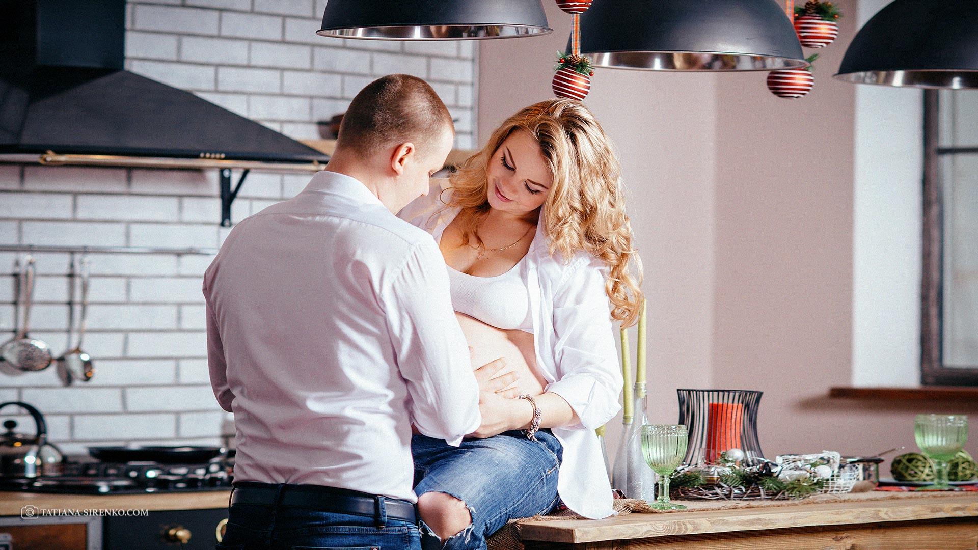 Фотосьемка в студии беременность
