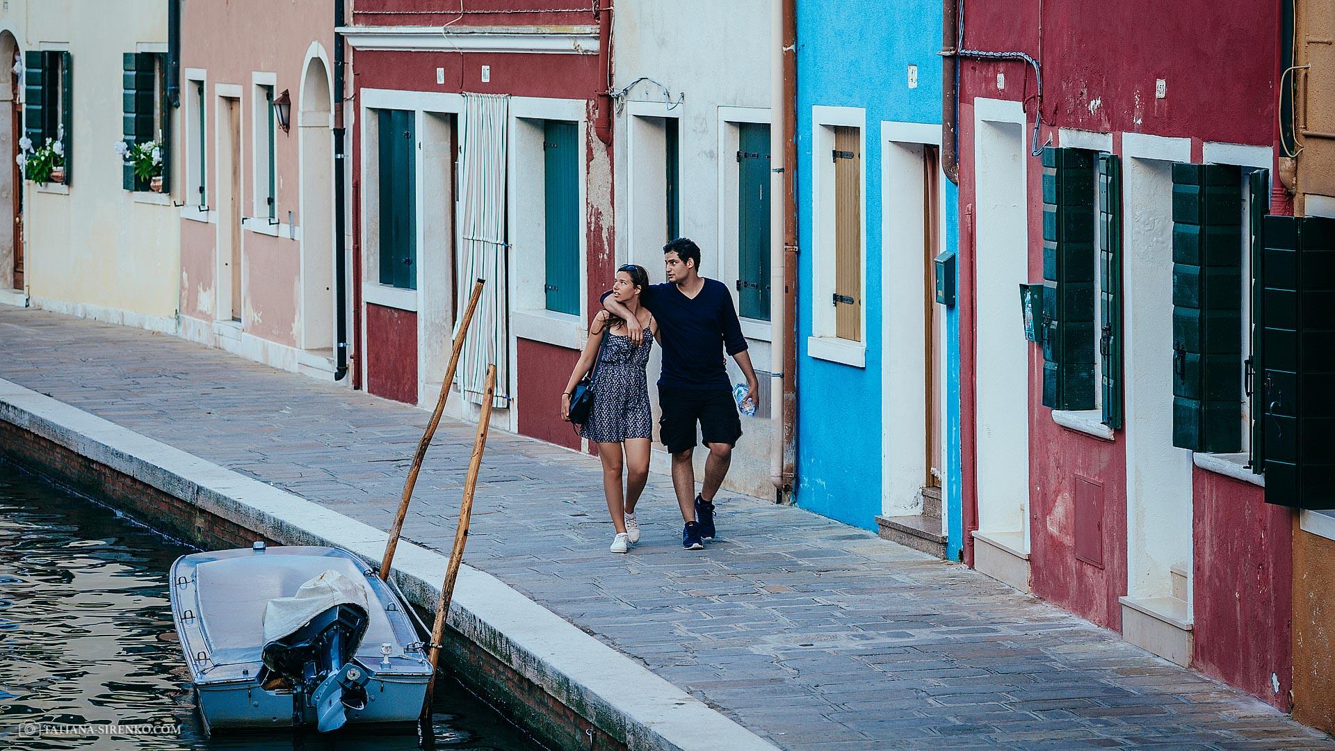 Фотосъемка Лав стори в Венеции