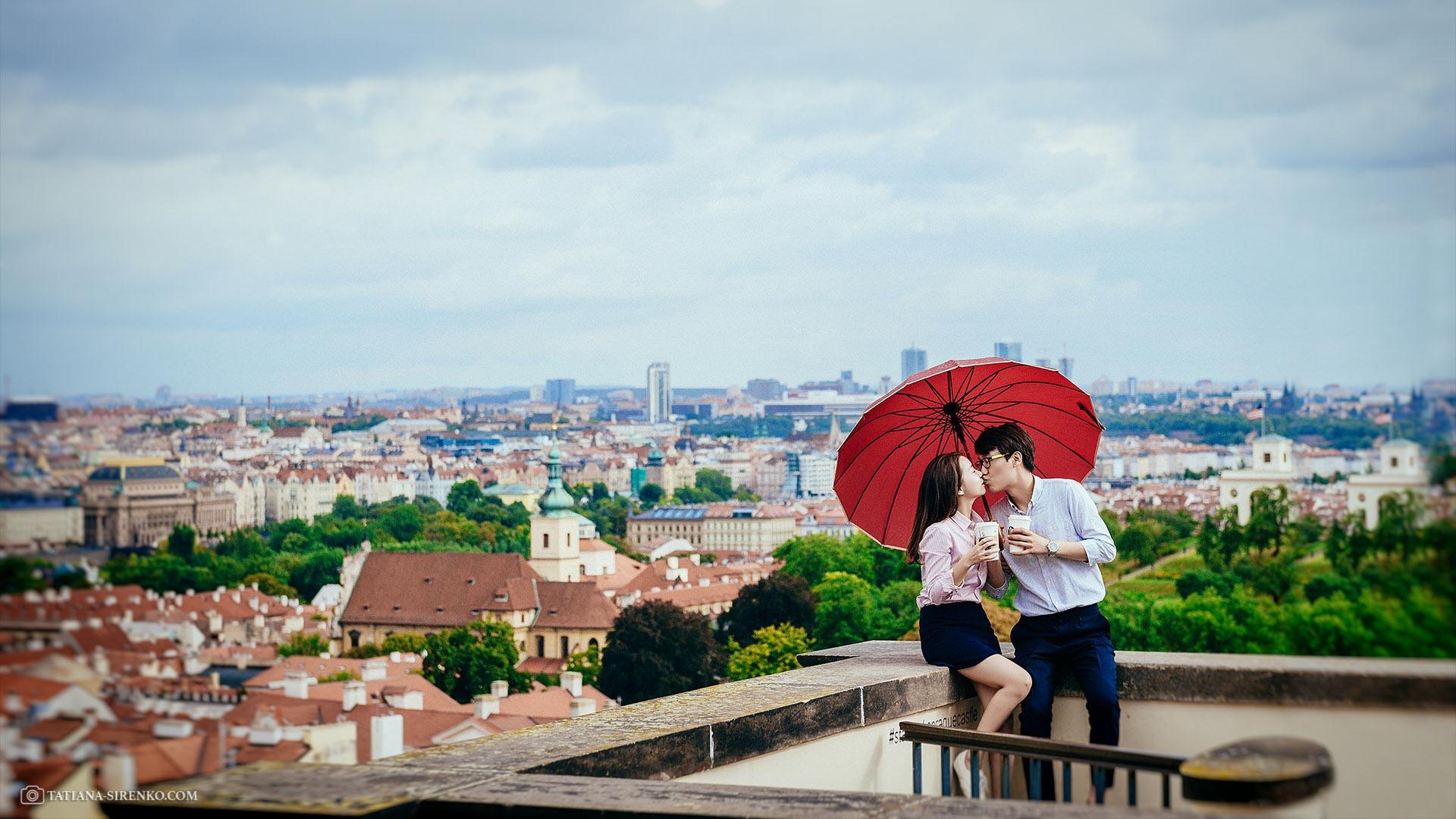 Свадебная фотосъемка в Чехии