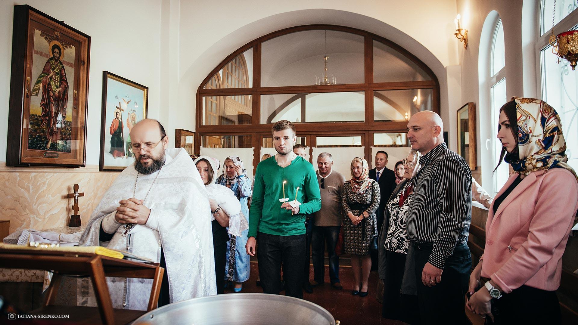 Фотосъемка крестин Киев