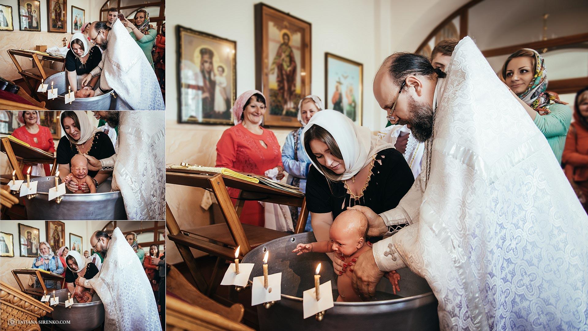 Фотограф на крещение в Киеве