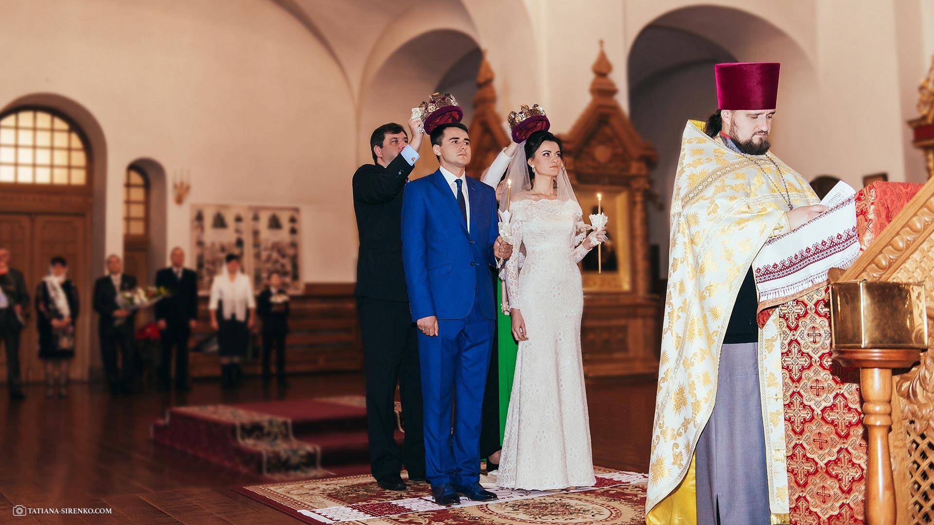 Фотосессия венчания в Киеве