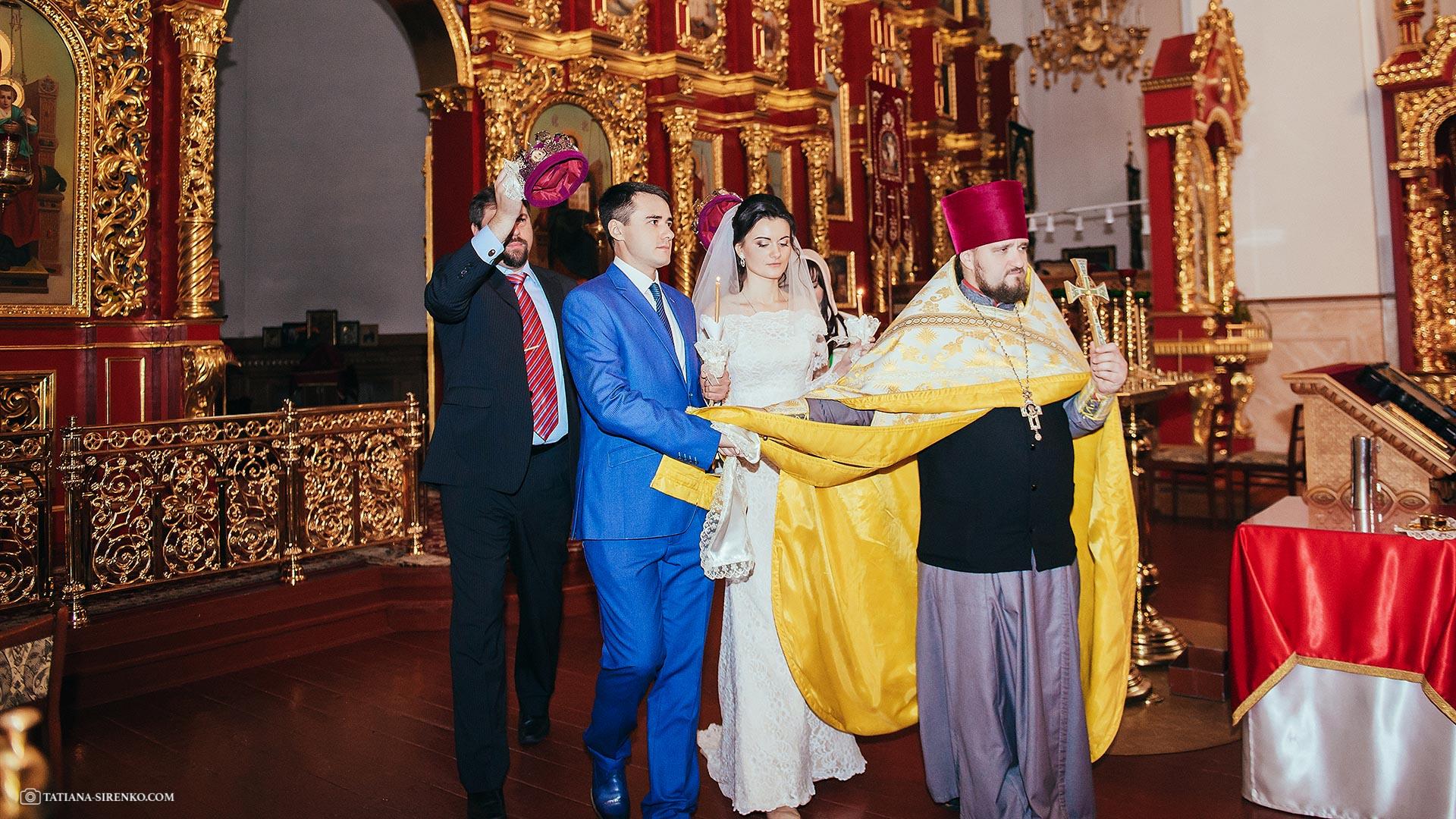 Венчание в Свято-Пантелеимоновском монастыре