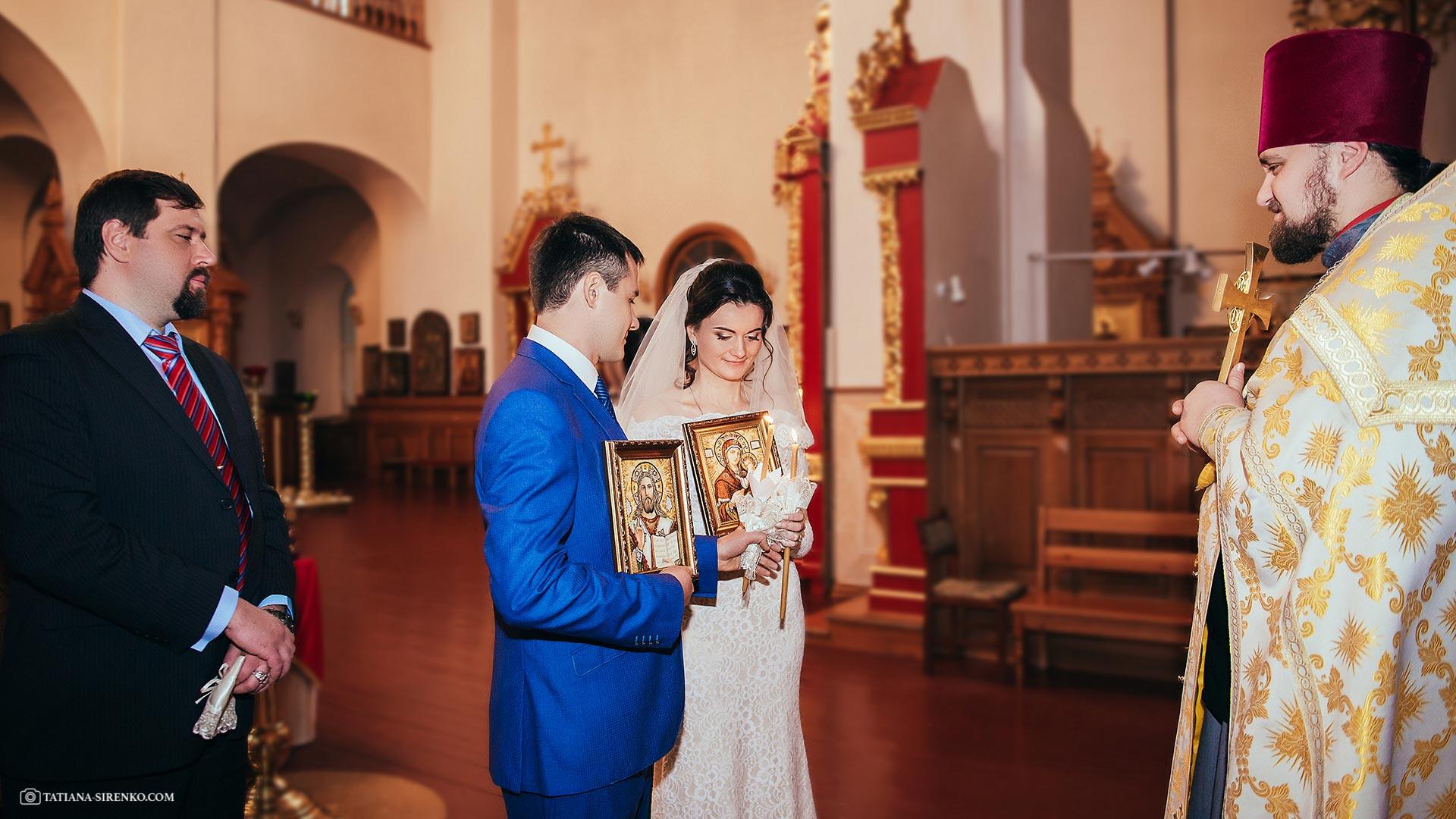 Фотосессия венчания Киев