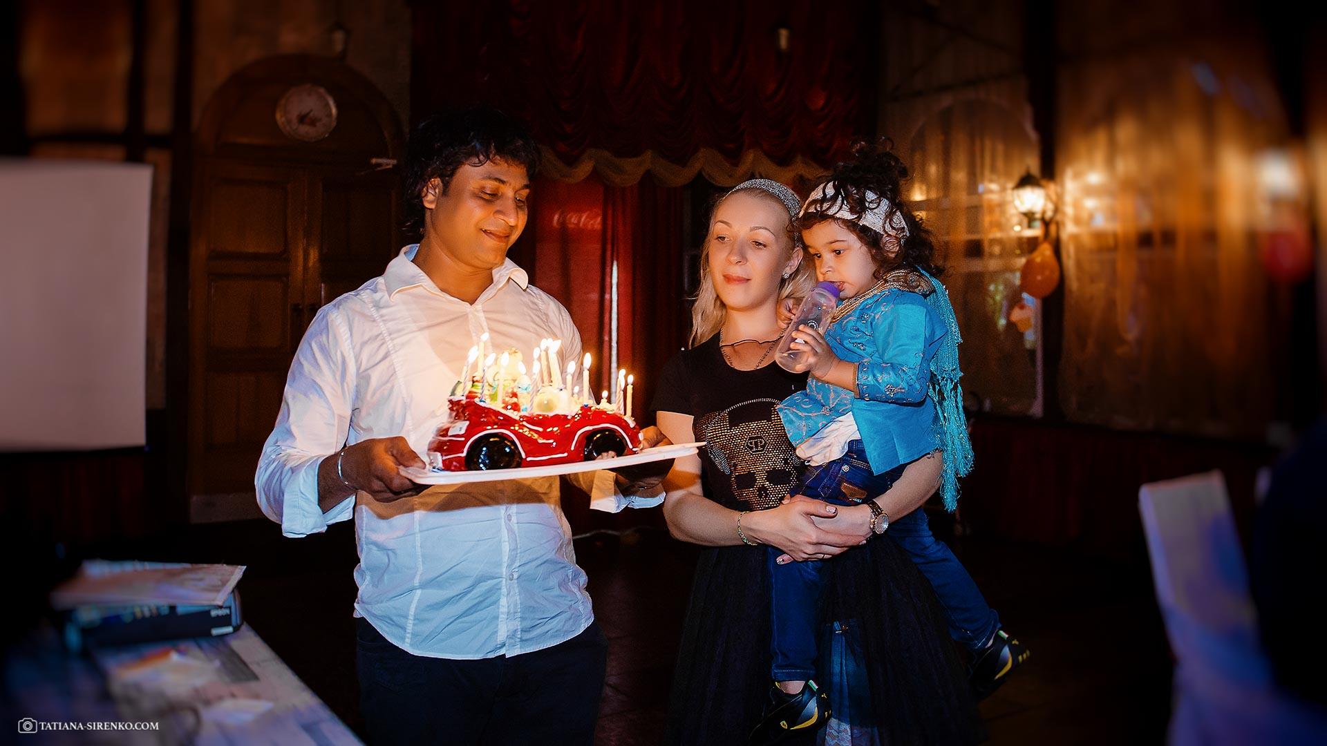 Заказать фотографа на день рождения в Киеве