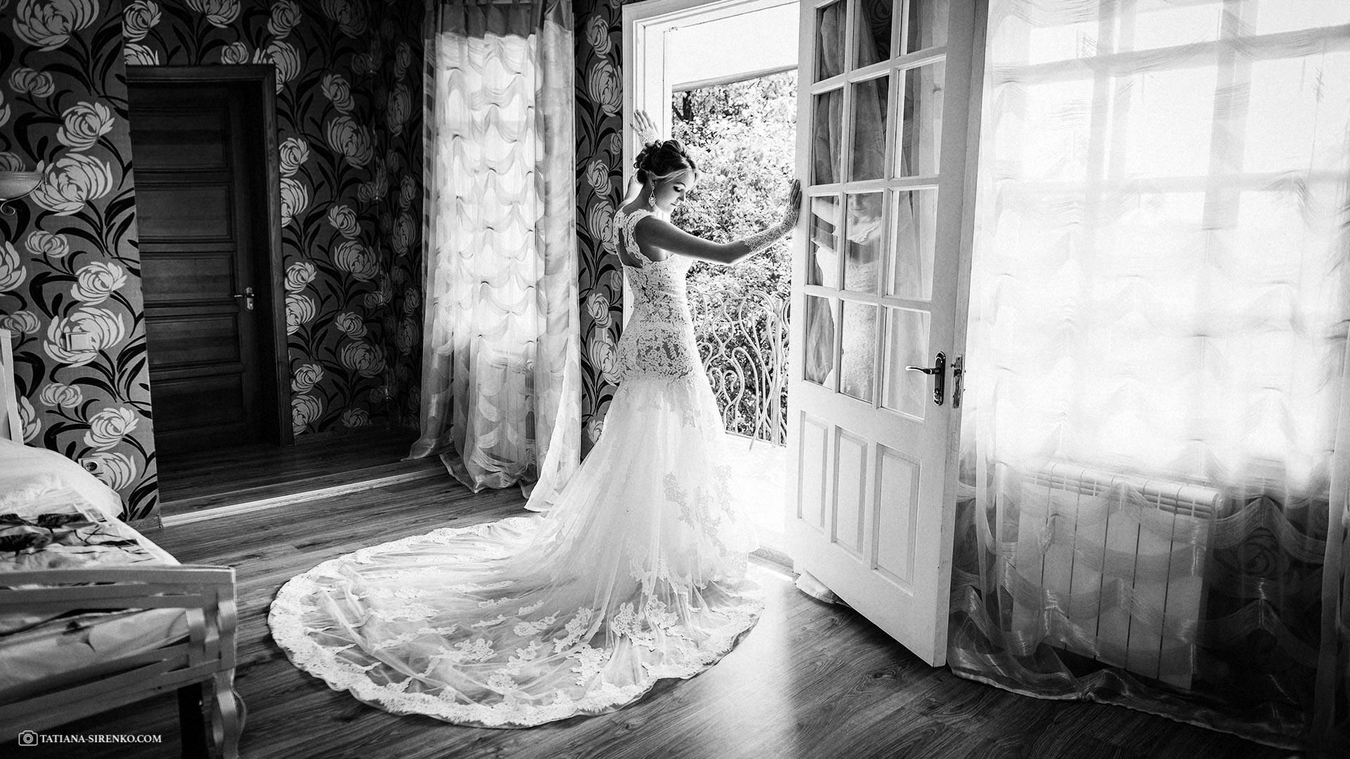 Утро невесты в квартире
