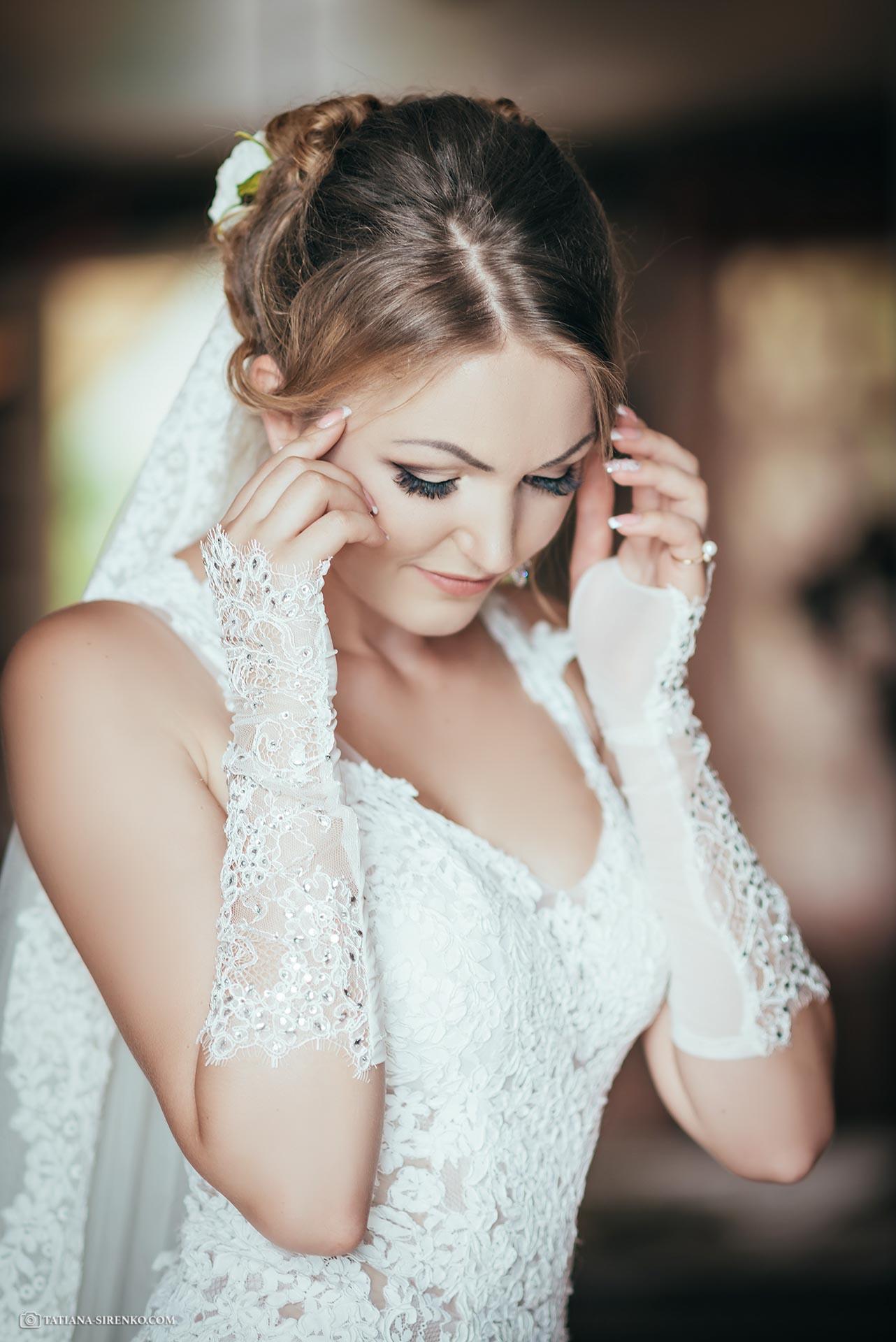 Аксессуары для утра невесты