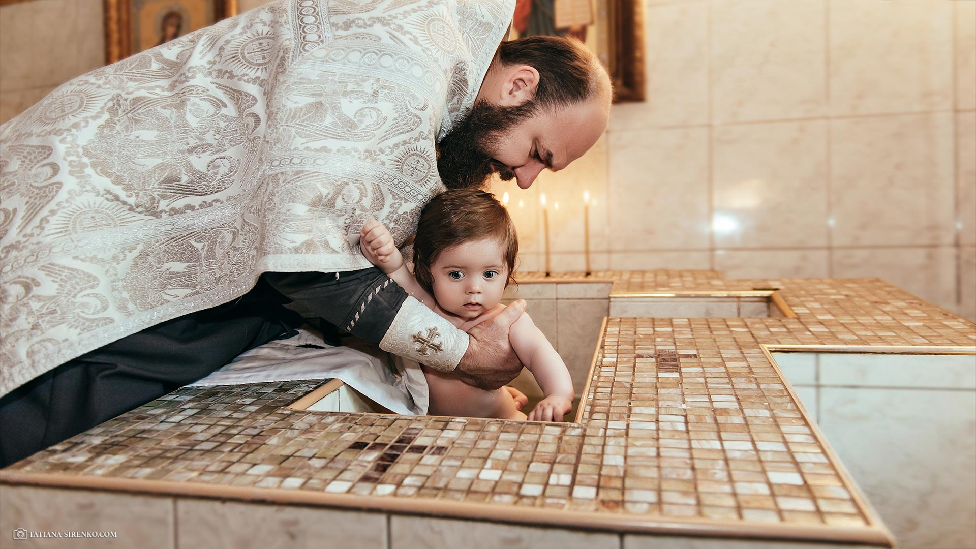 Фотоссесия крестин в Киеве
