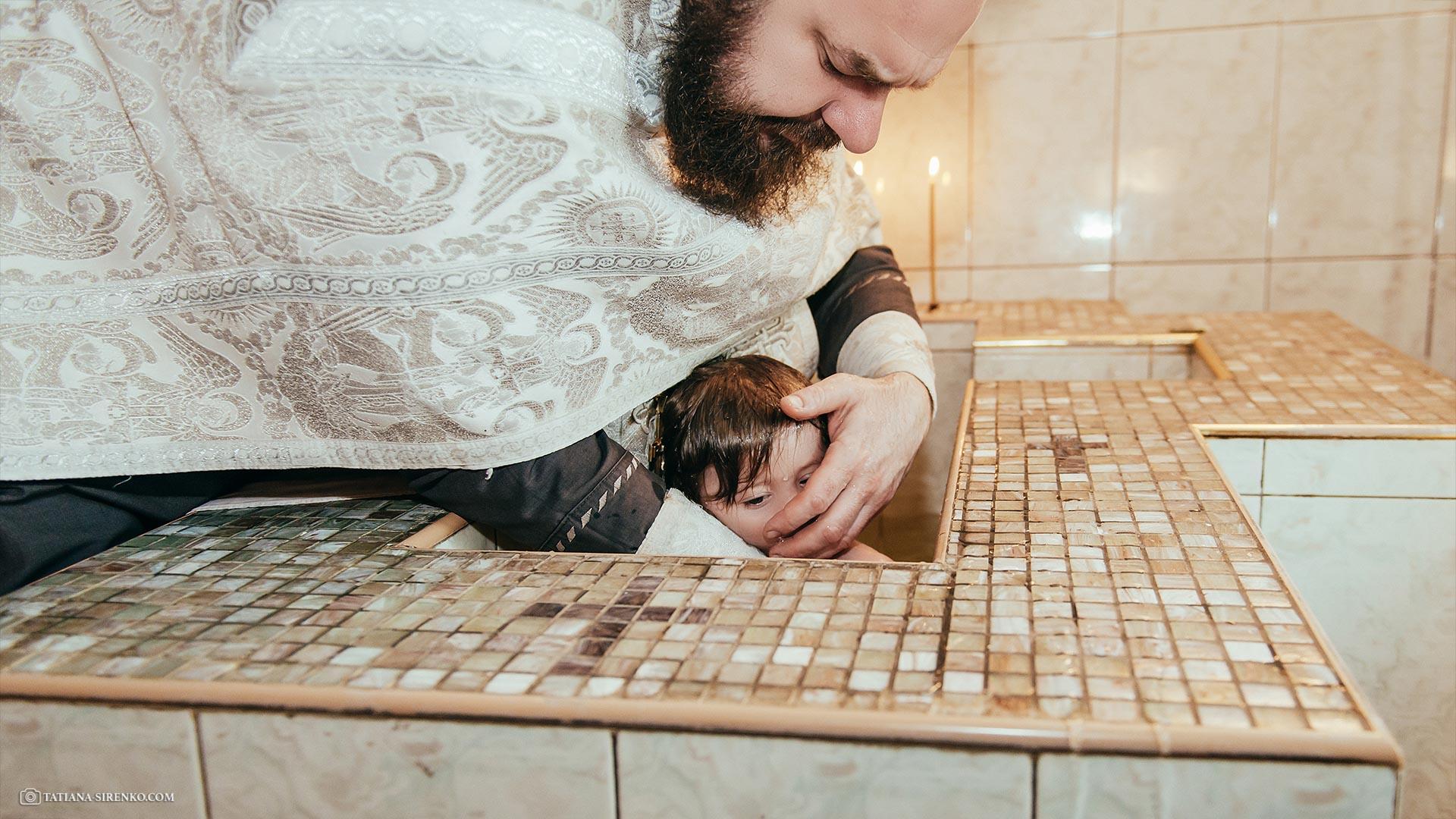 Ильинская церковь крещение