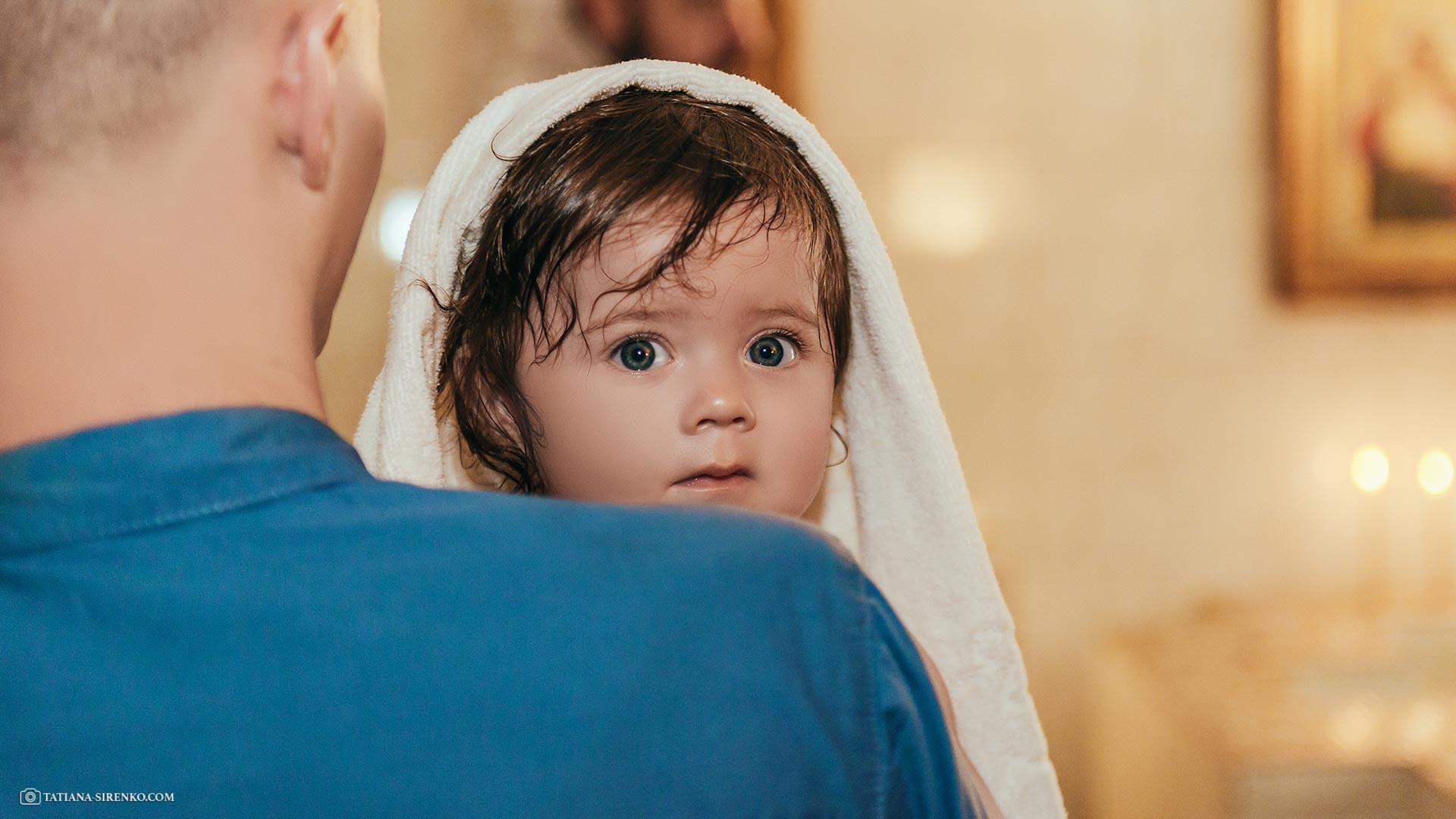 Крещение в Ильинской церкви