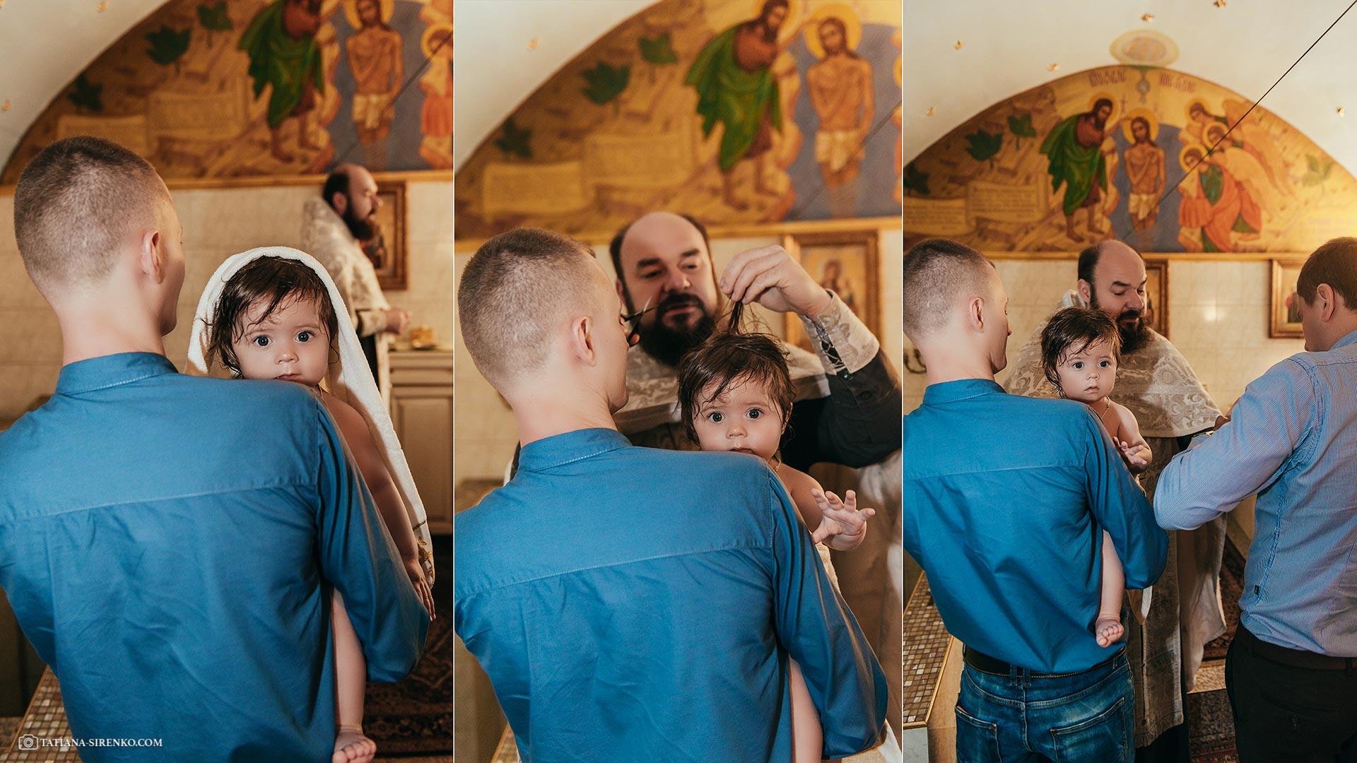 Крестины в Ильинском монастере