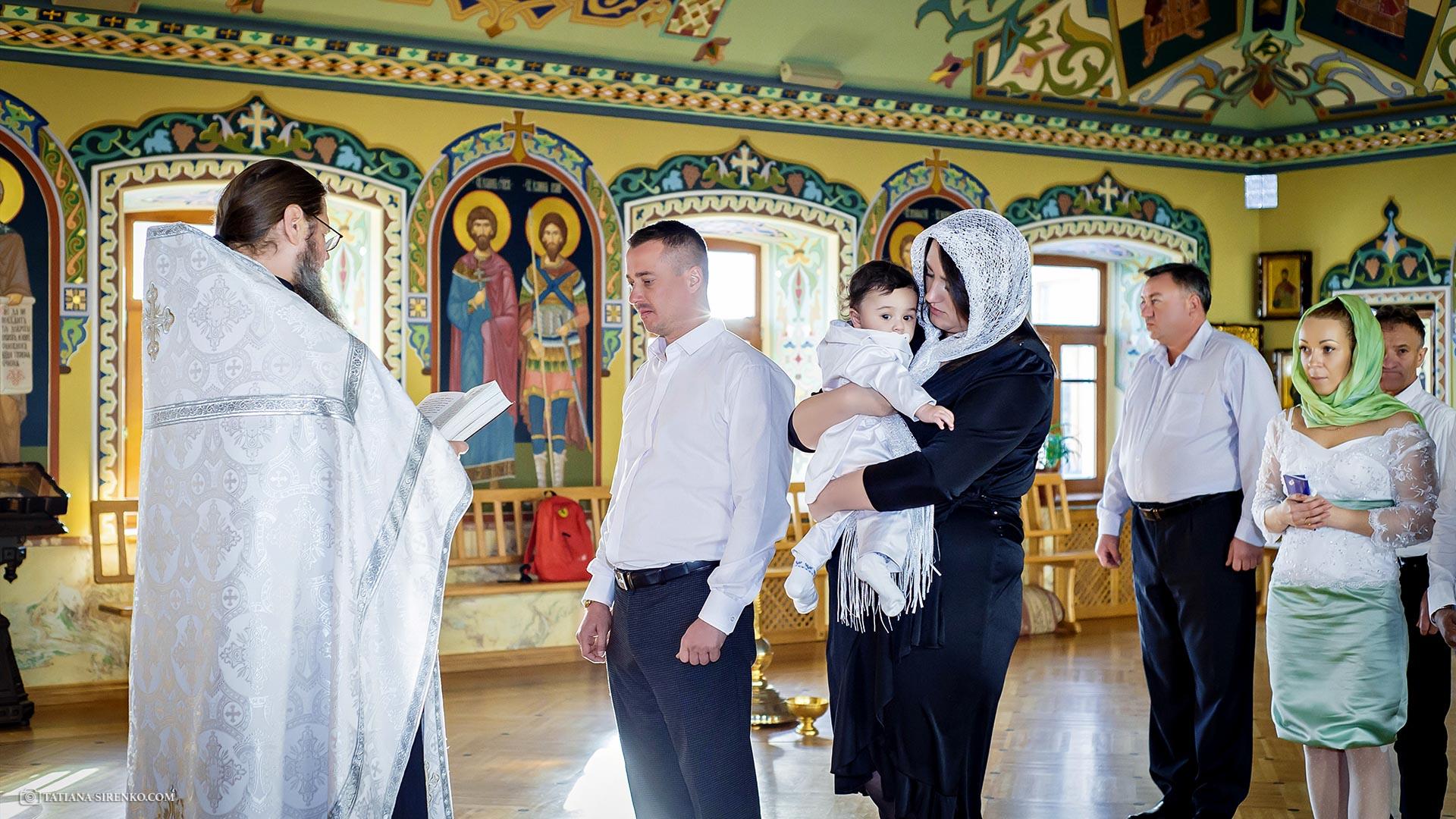 Фотосъемка крещения в Киеве