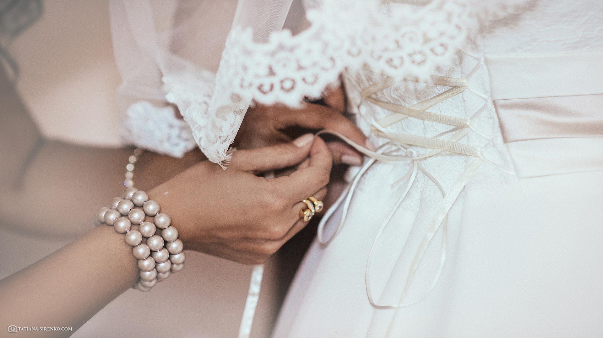 Утро невесты в гостинеце