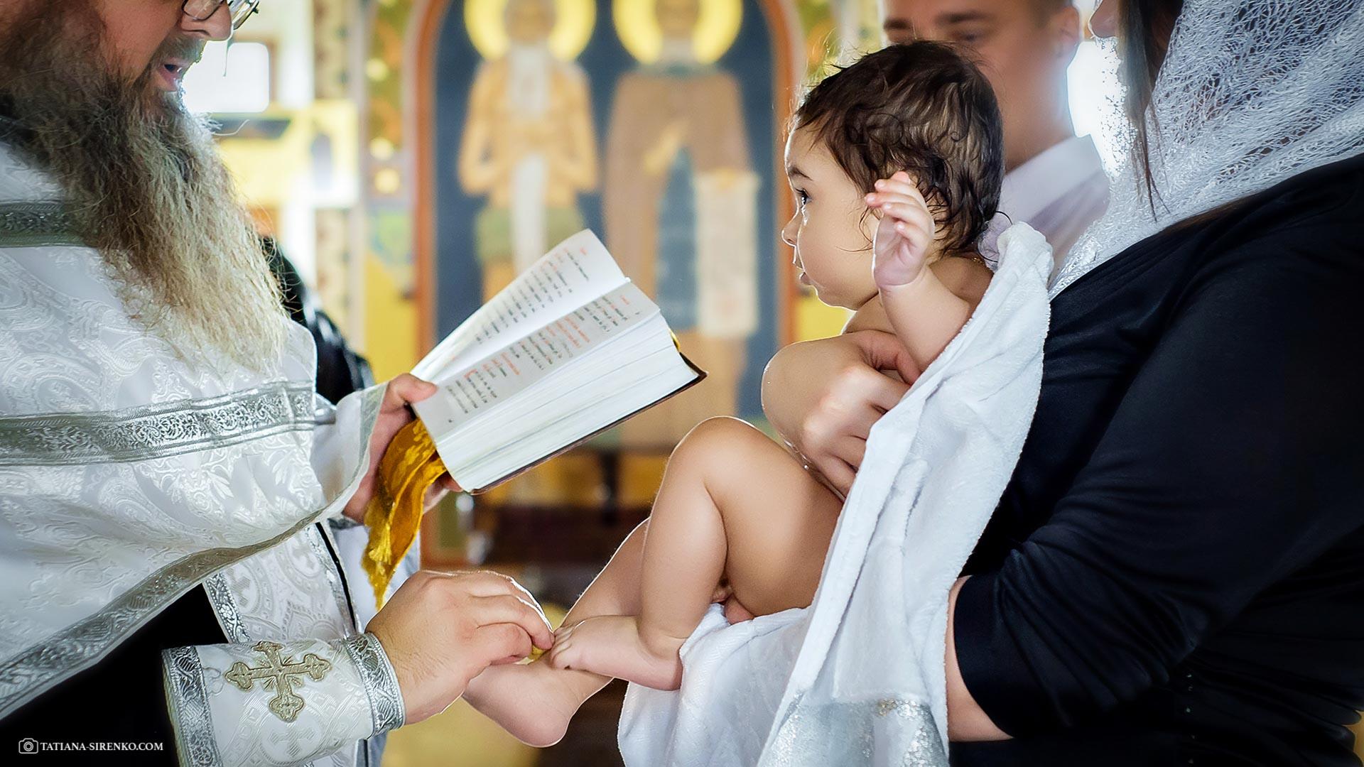 Крещение в Печерской лавре