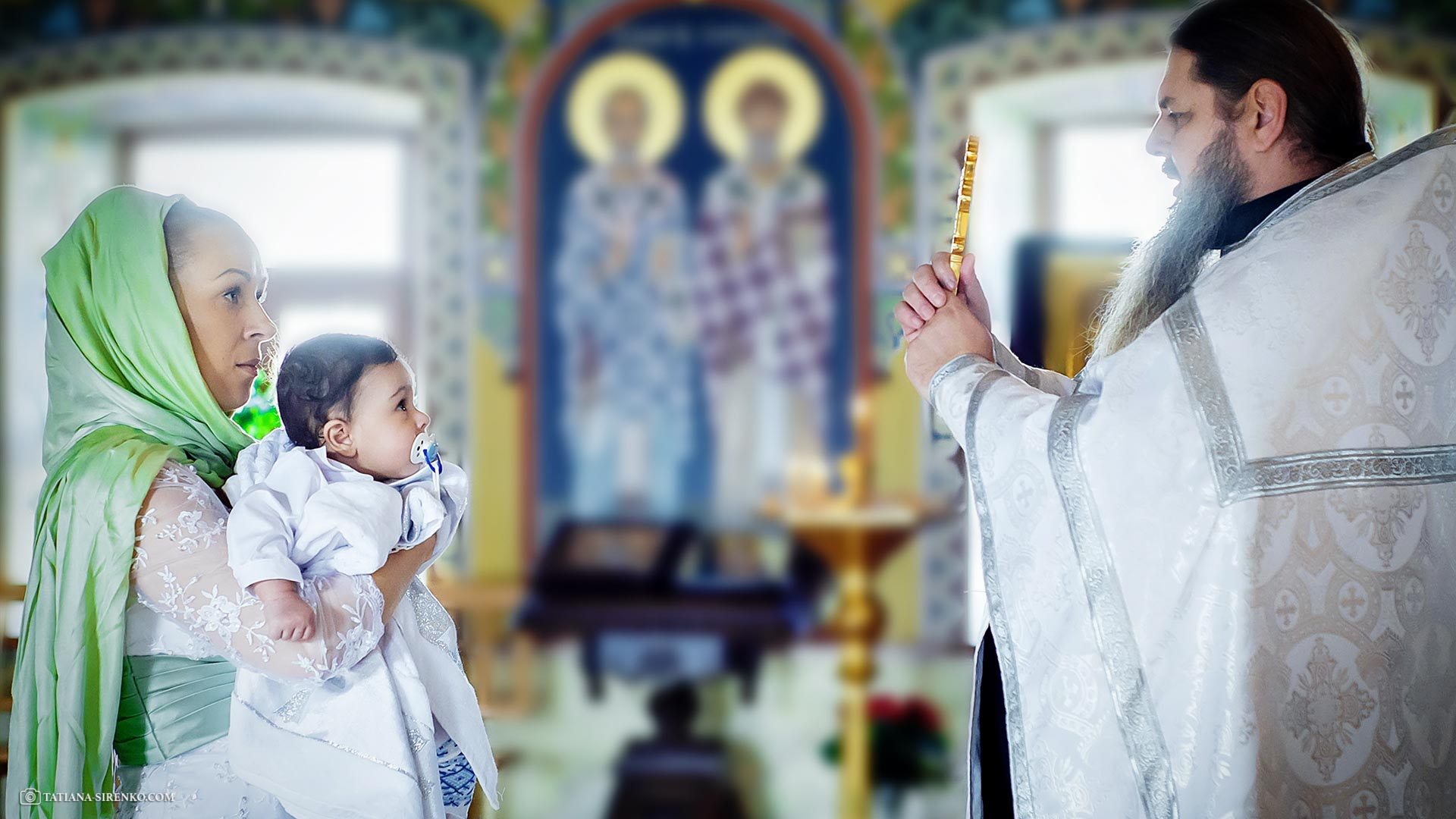Фотосессия крестин Киев