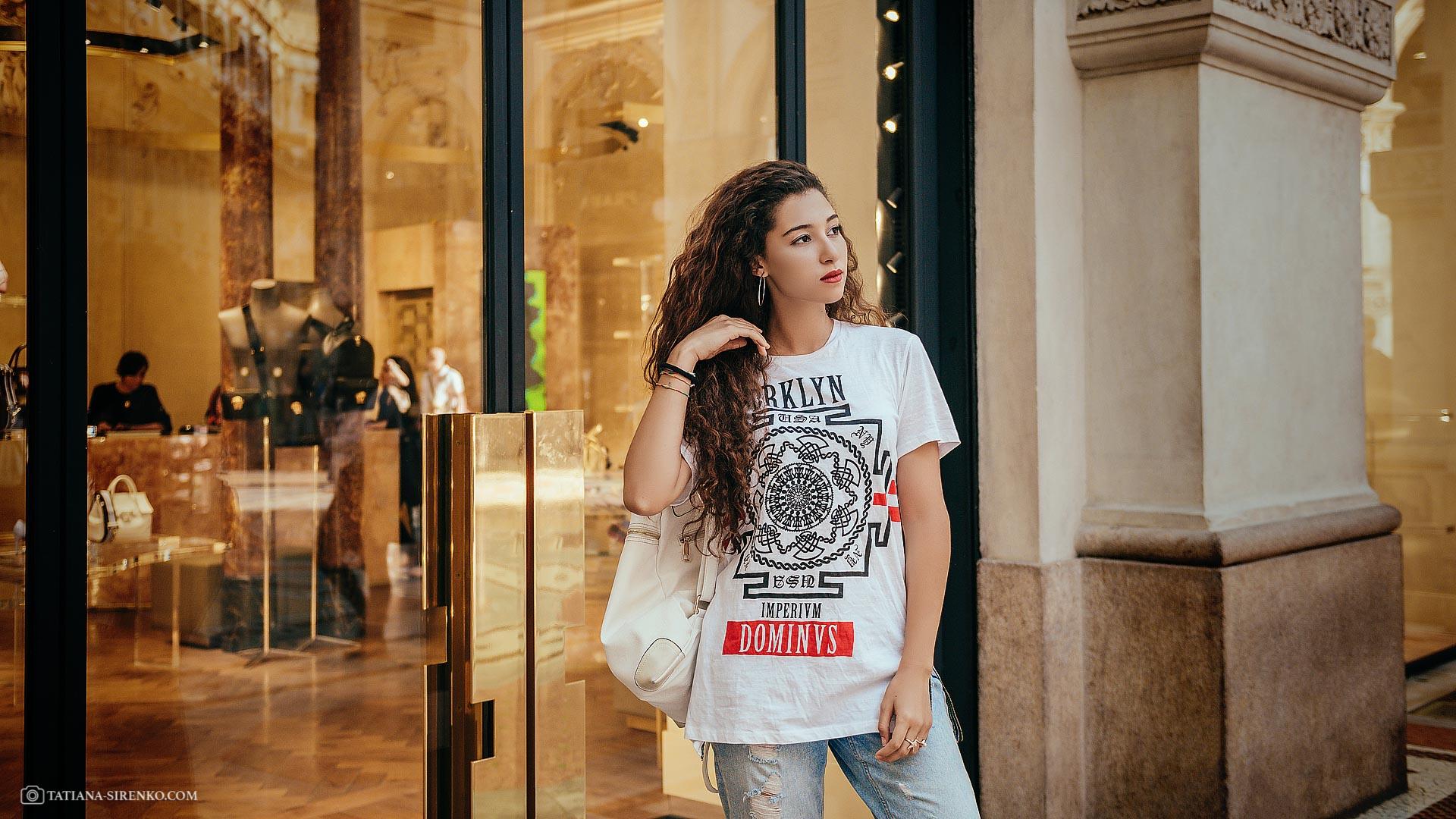 Фотосессия в Милане, Италия