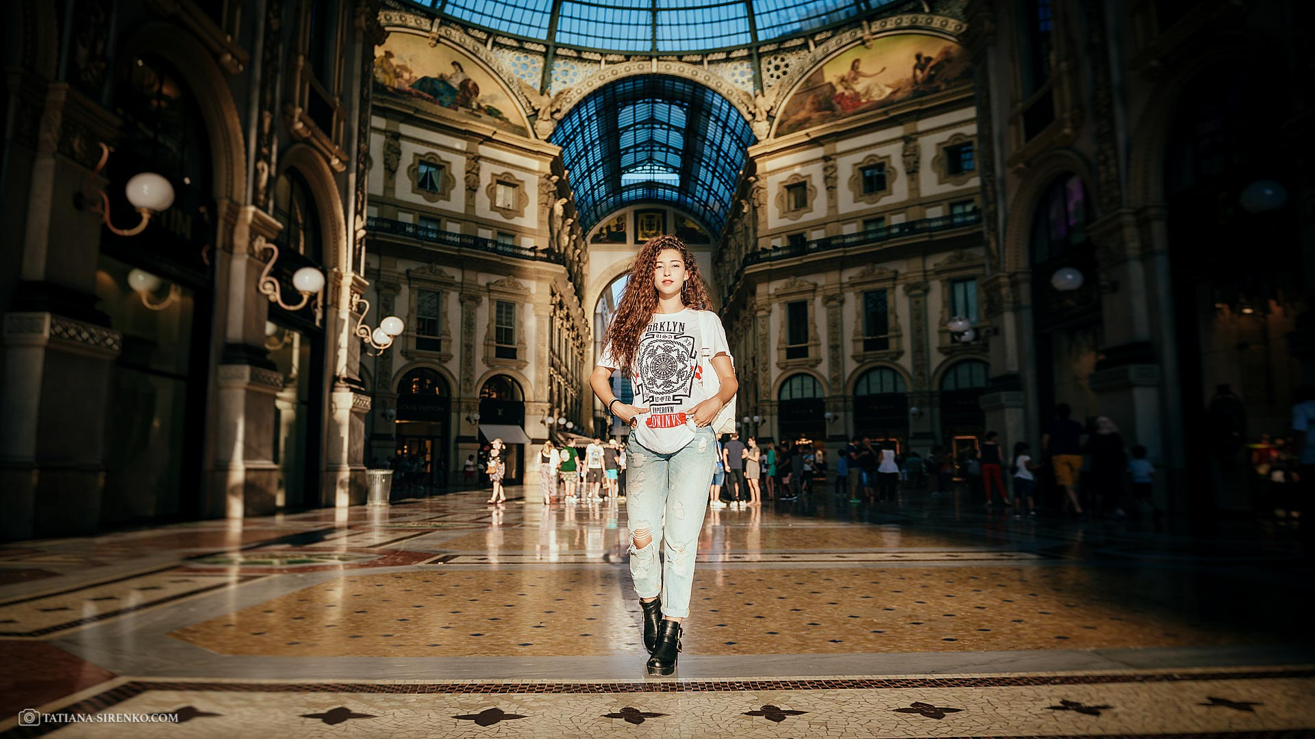 Photographer in Milan