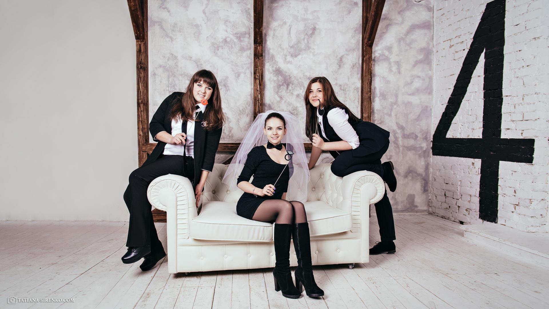 Фотосессия девичника Киев