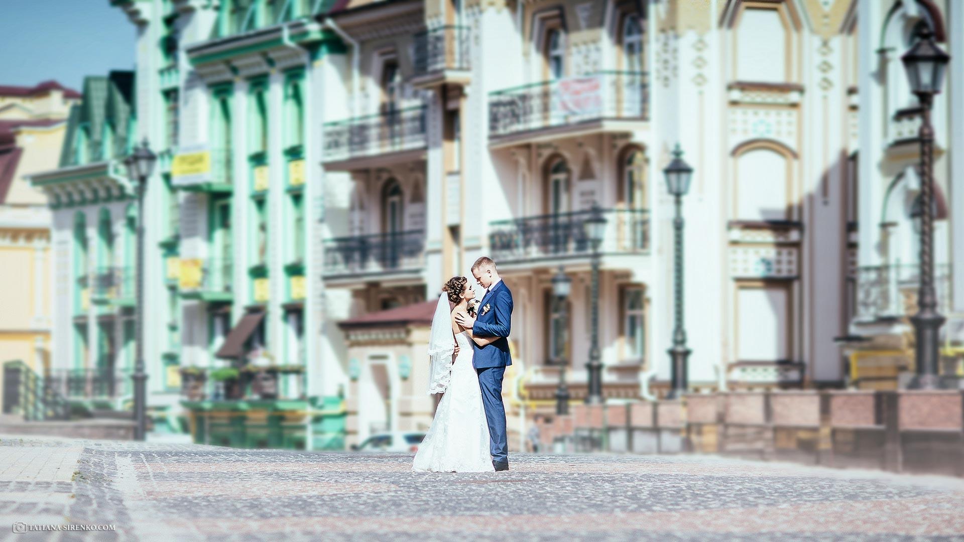Свадебная фотосессия на Воздвиженке