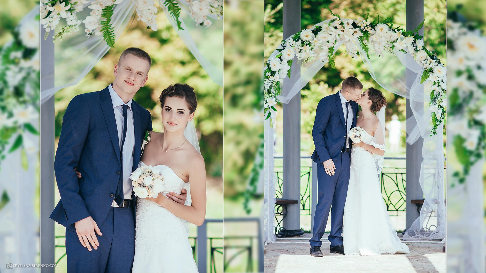 Свадебная фотосъемка в Феофании