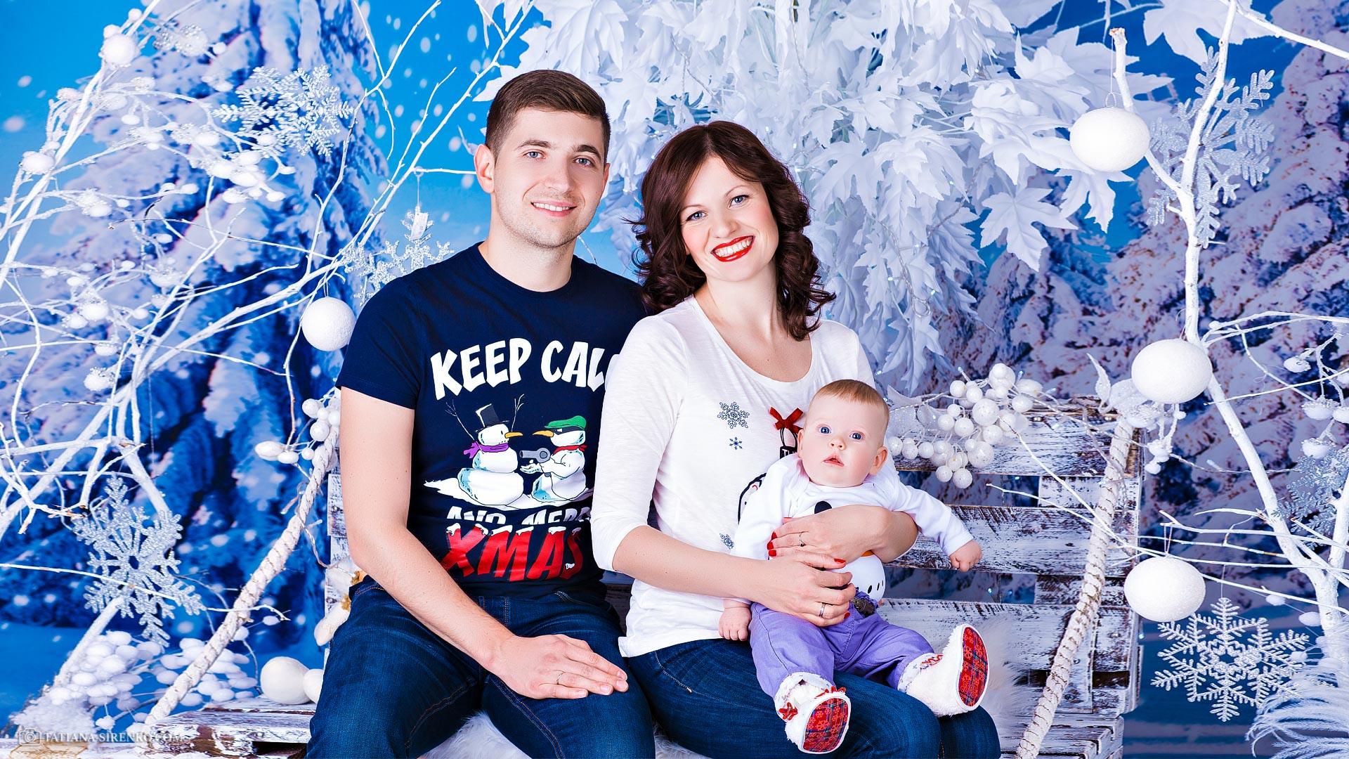 Детская фотосъемка семейная фотосессия Киев в студии