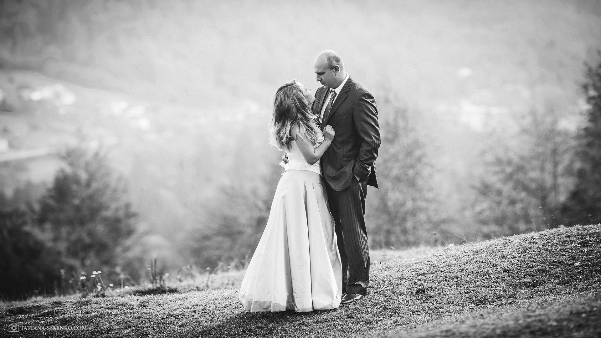 Свадебная фотосъемка в Карпатах
