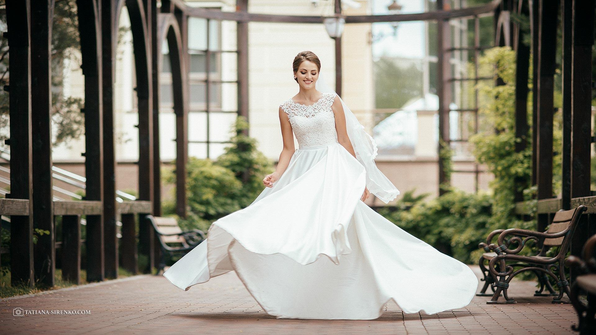 Свадебная фотосъемка в Межигорье
