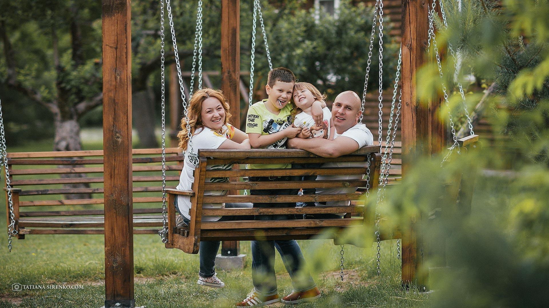 Семейная фотосъемка