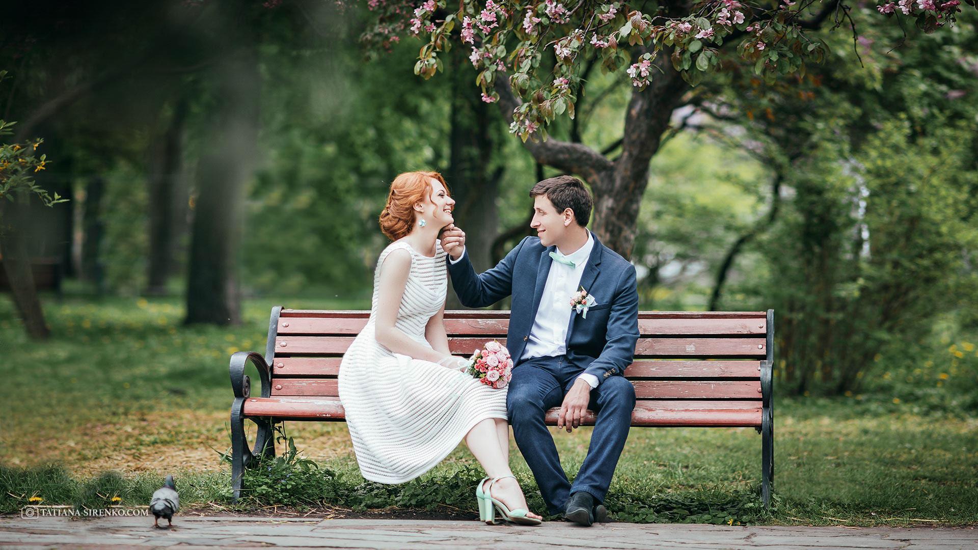 Свадебная фотосъемка весной