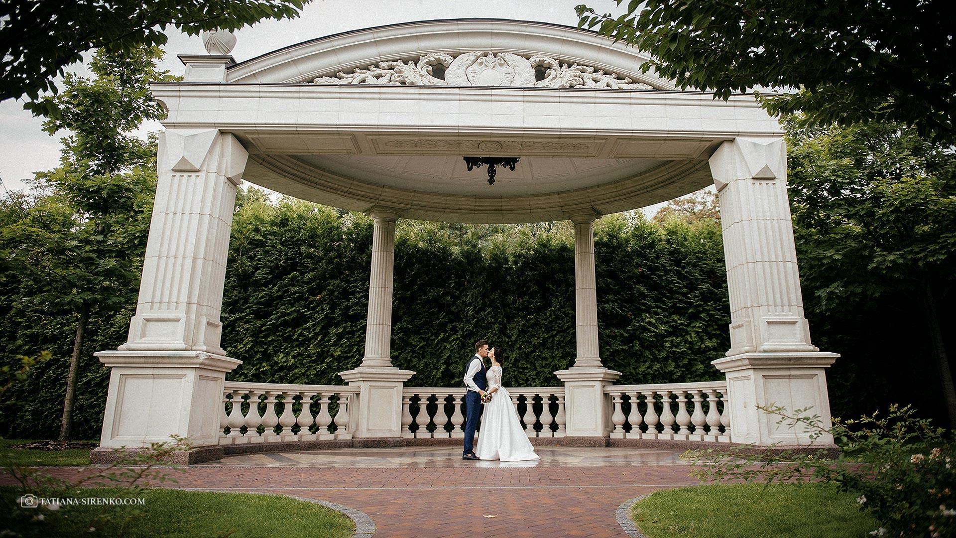 Свадебная съемка в Межигорье