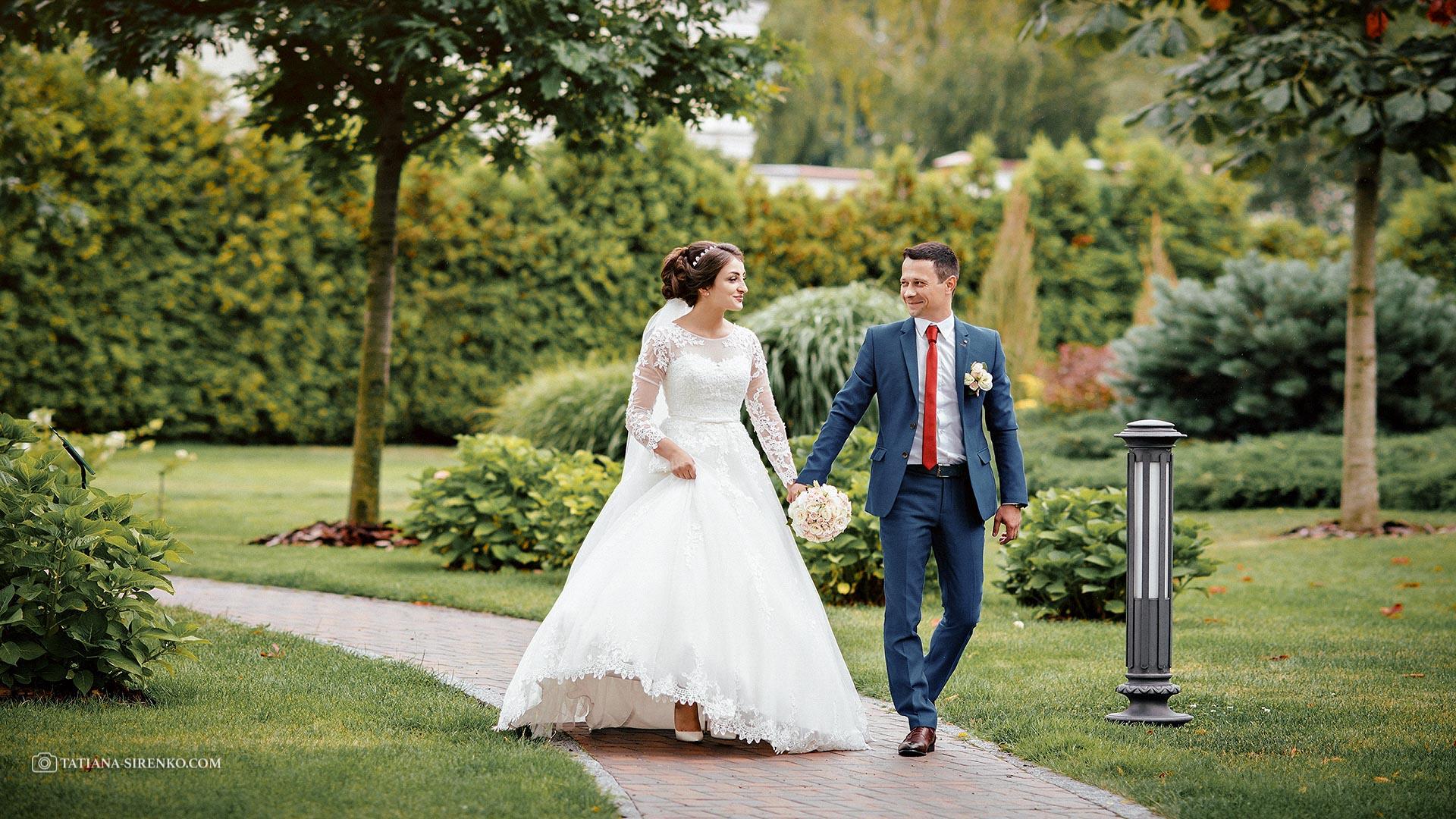Свадебная прогулка в Межигорье