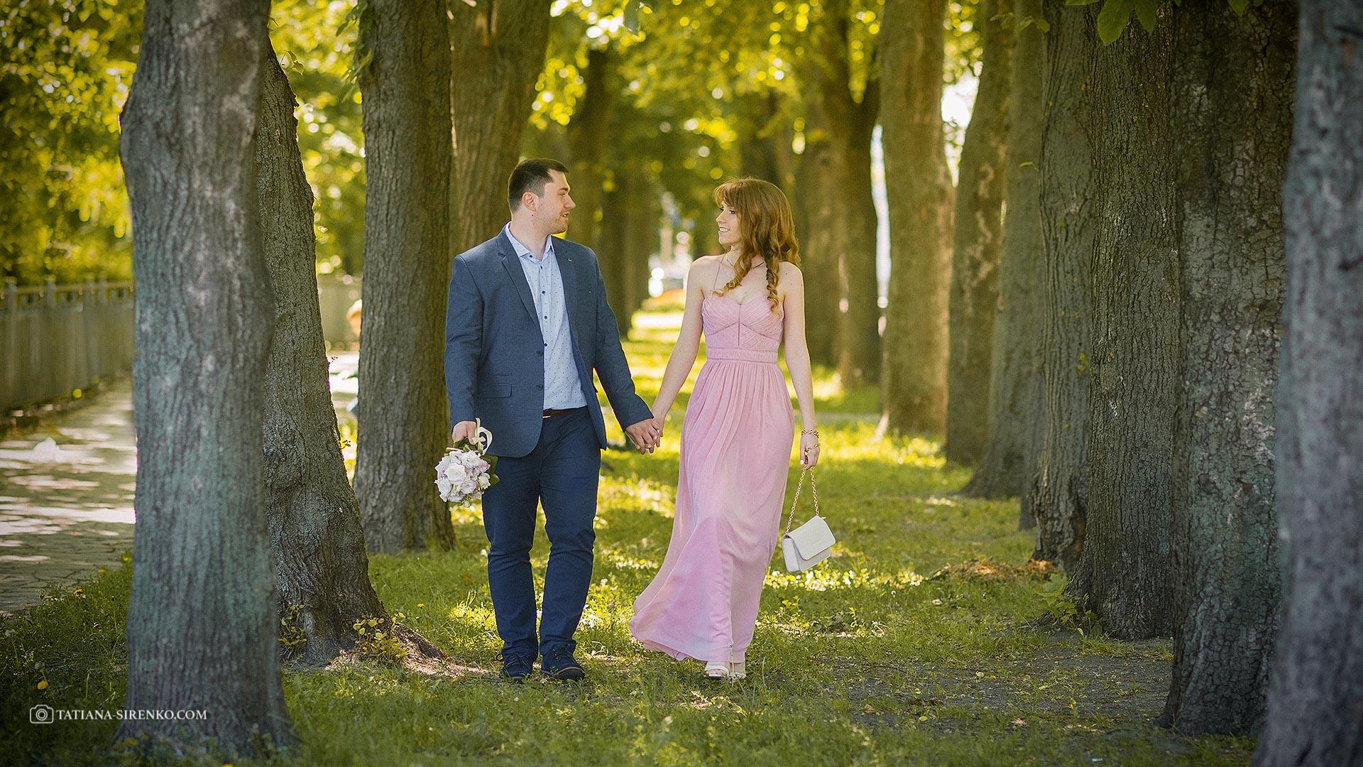 Свадебная фотосессия на Софиевской площади