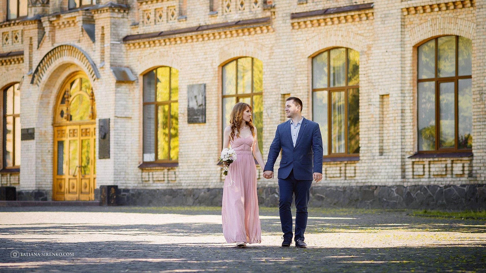 Свадебная фотосессия на КПИ