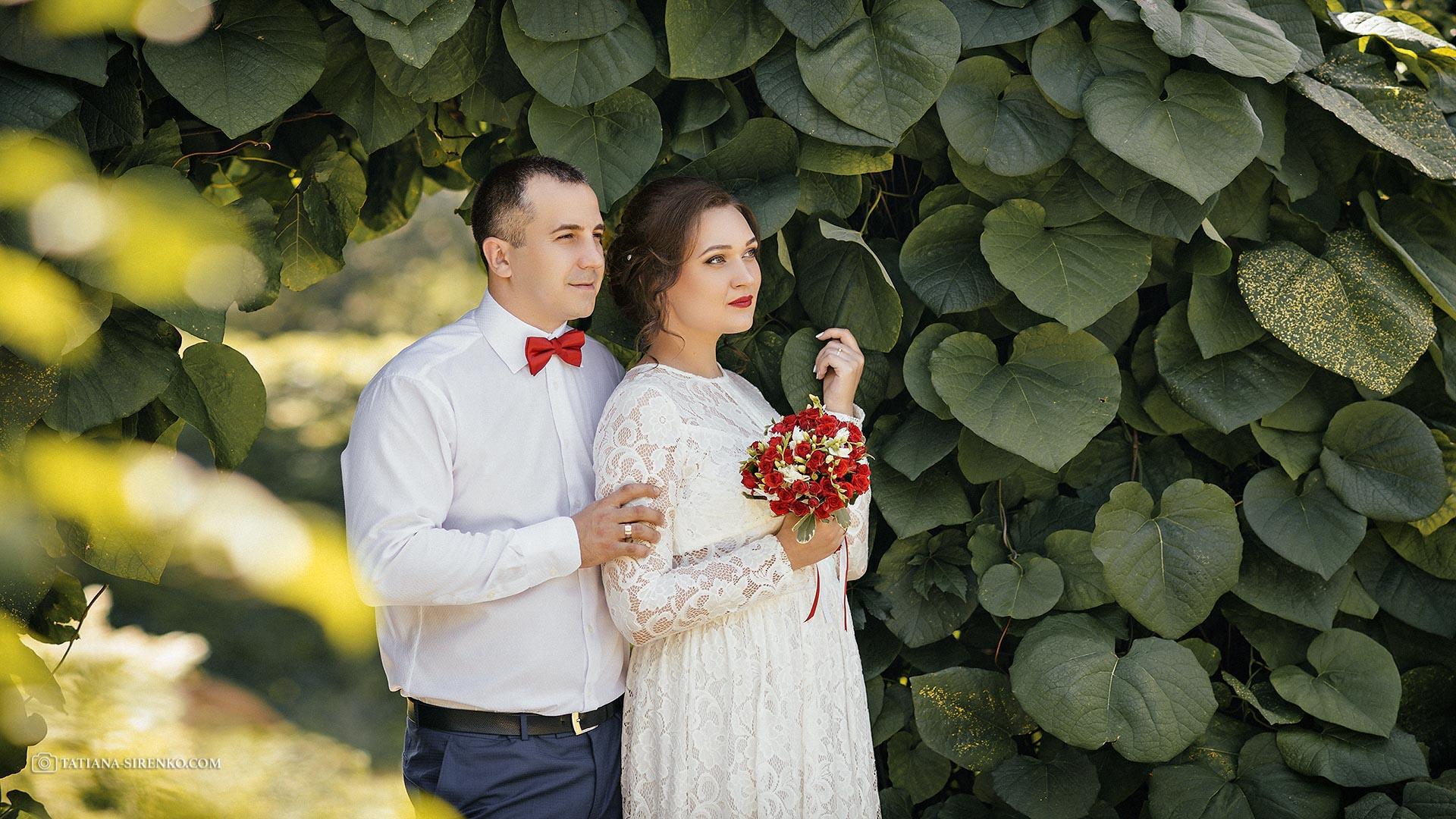Свадебная фотосъемка в Ботаническом саду