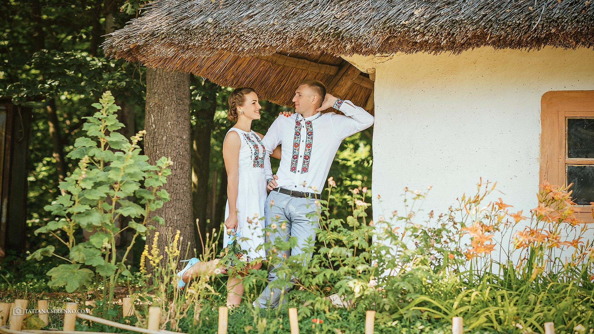 Свадебная фотосессия в Пирогово